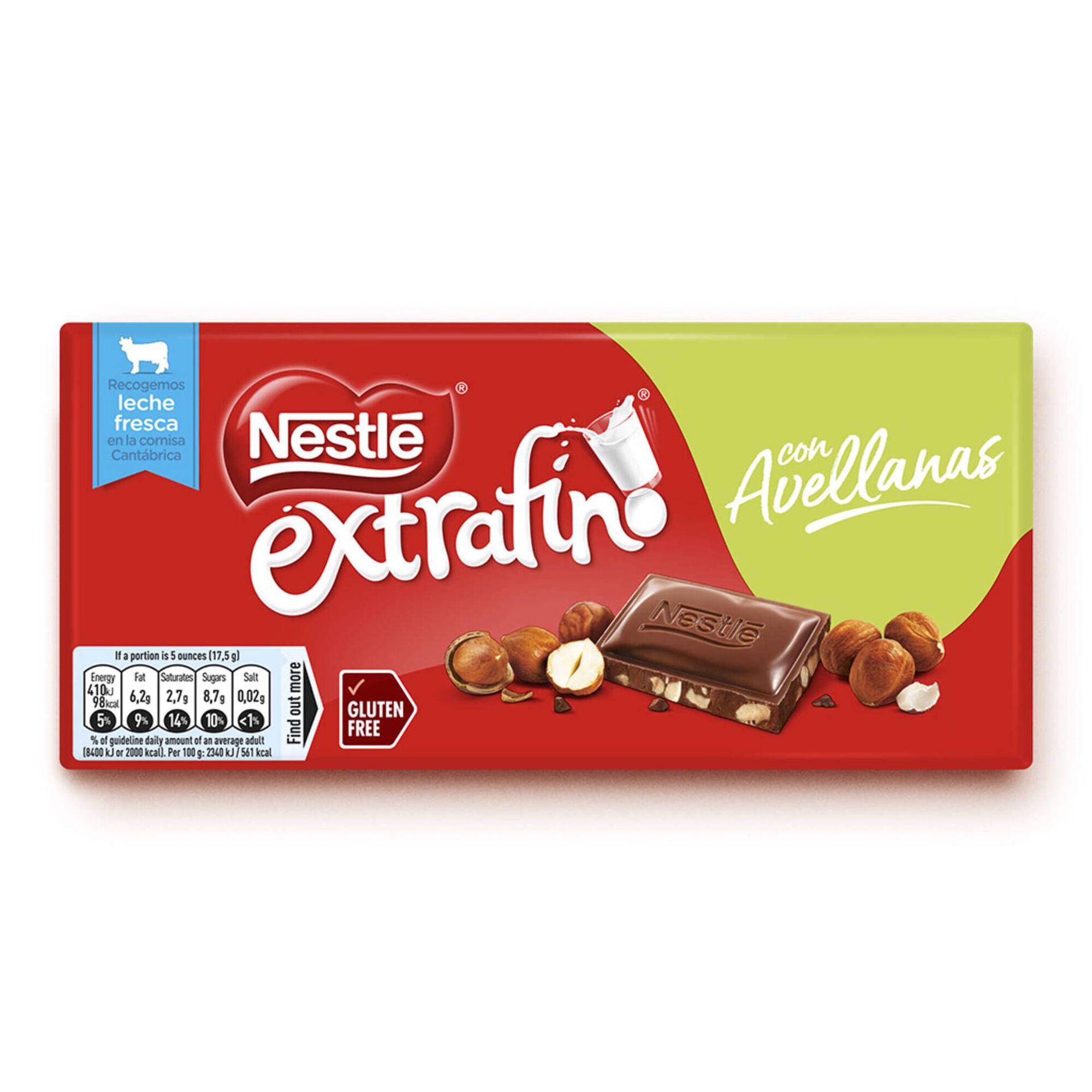 Tablete de Chocolate de Leite com Avelã Extrafino sem Glúten
