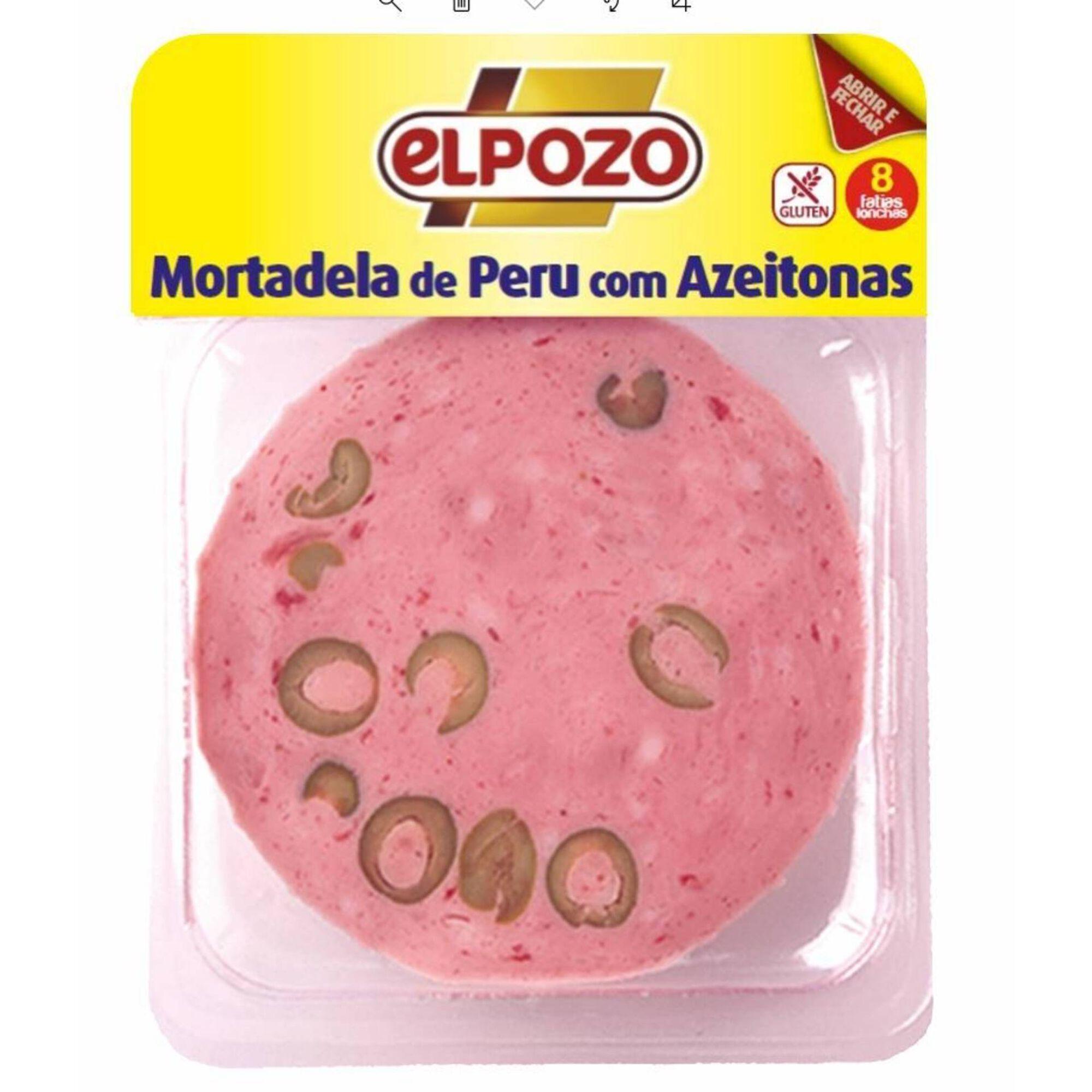 Mortadela de Peru com Azeitonas