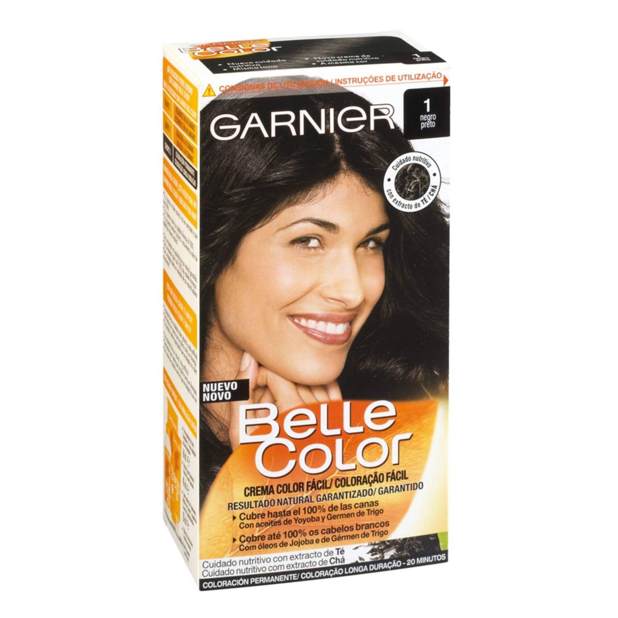 Coloração Permanente Belle Color Preto 1.0
