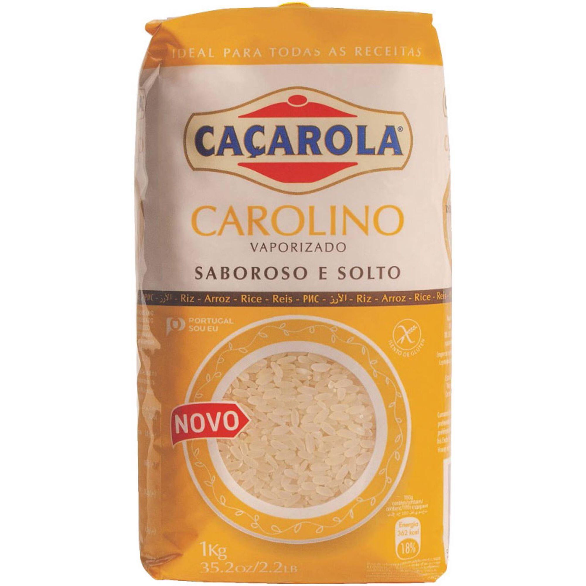 Arroz Carolino Vaporizado