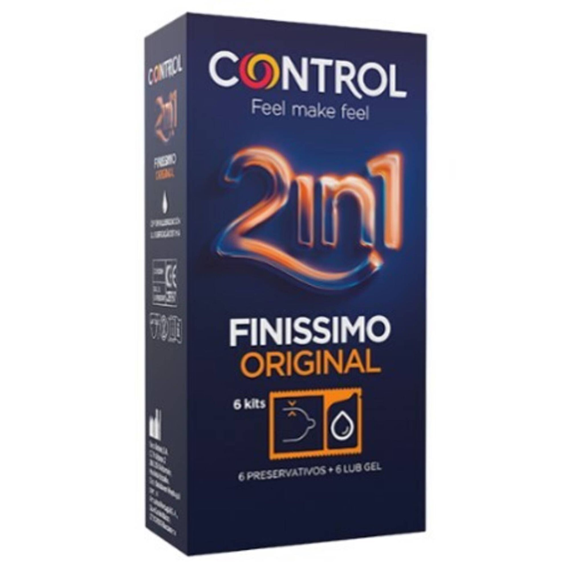 Preservativos Finíssimo Original 2 em 1