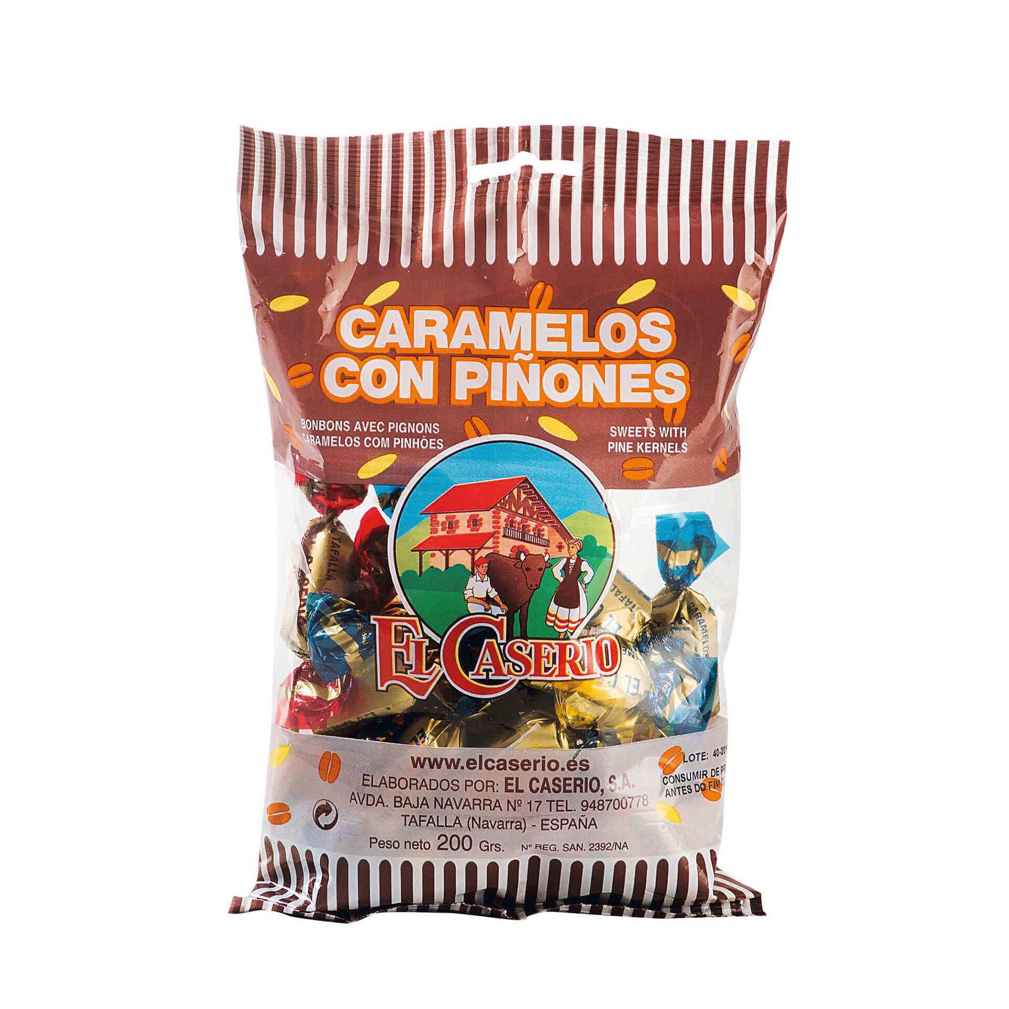 Caramelos com Pinhão