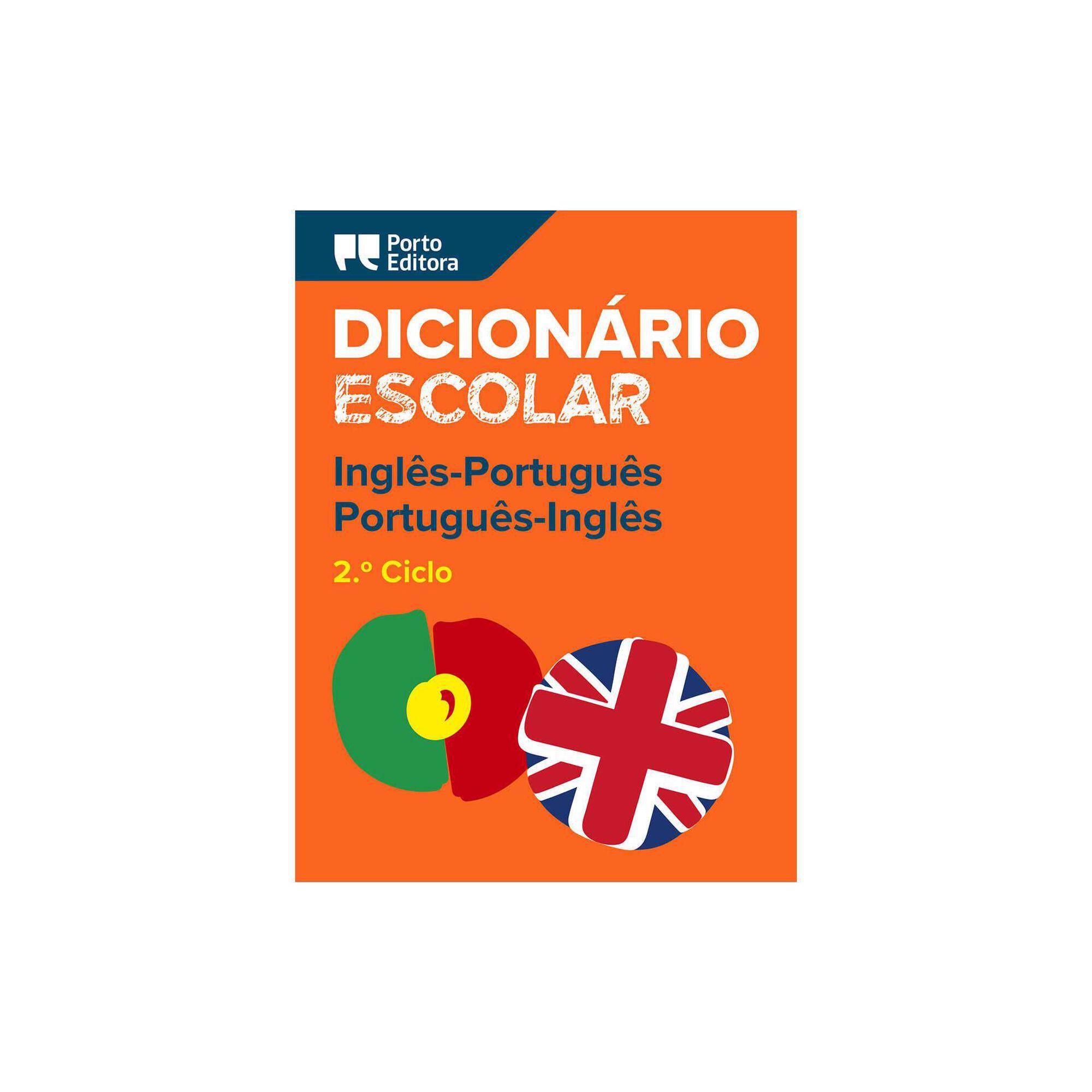 Dicionário Escolar de Inglês-Português/Português-Inglês - 7º, 8º e 9º Ano, , hi-res