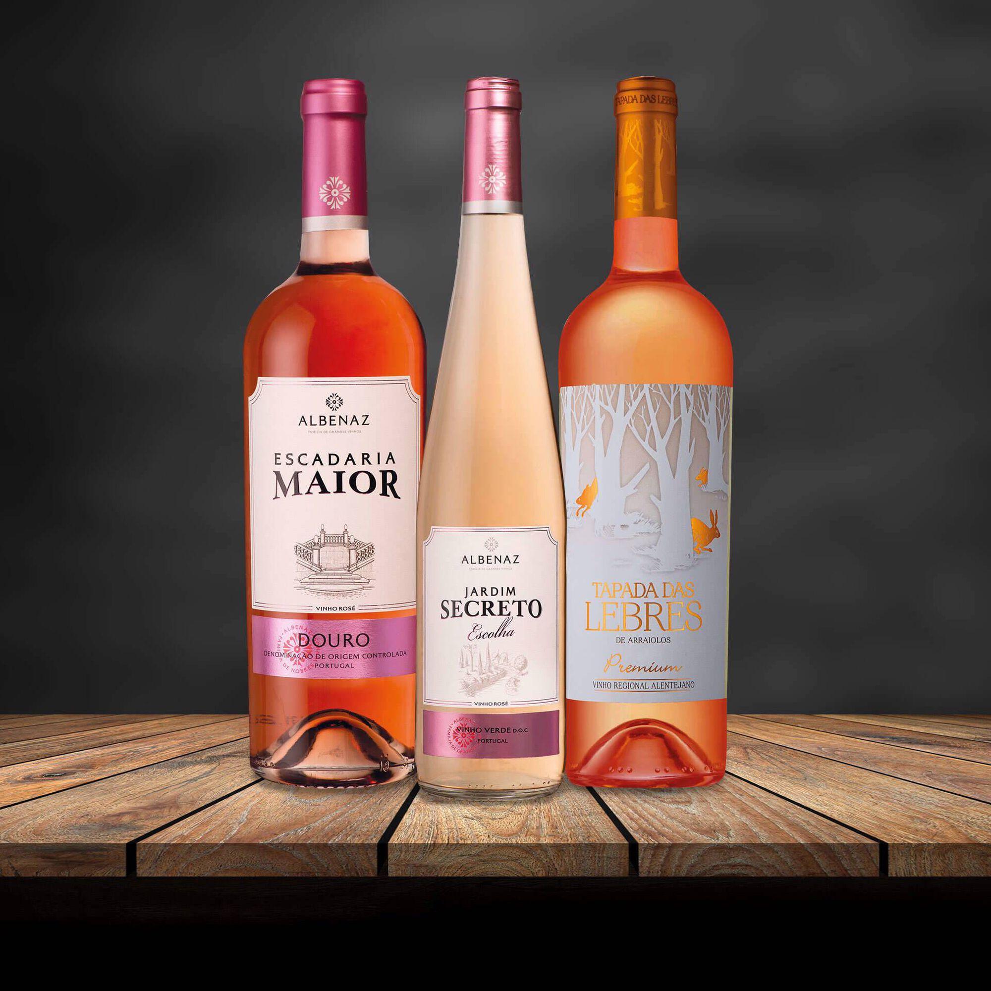 Cabaz de Vinhos Rosés
