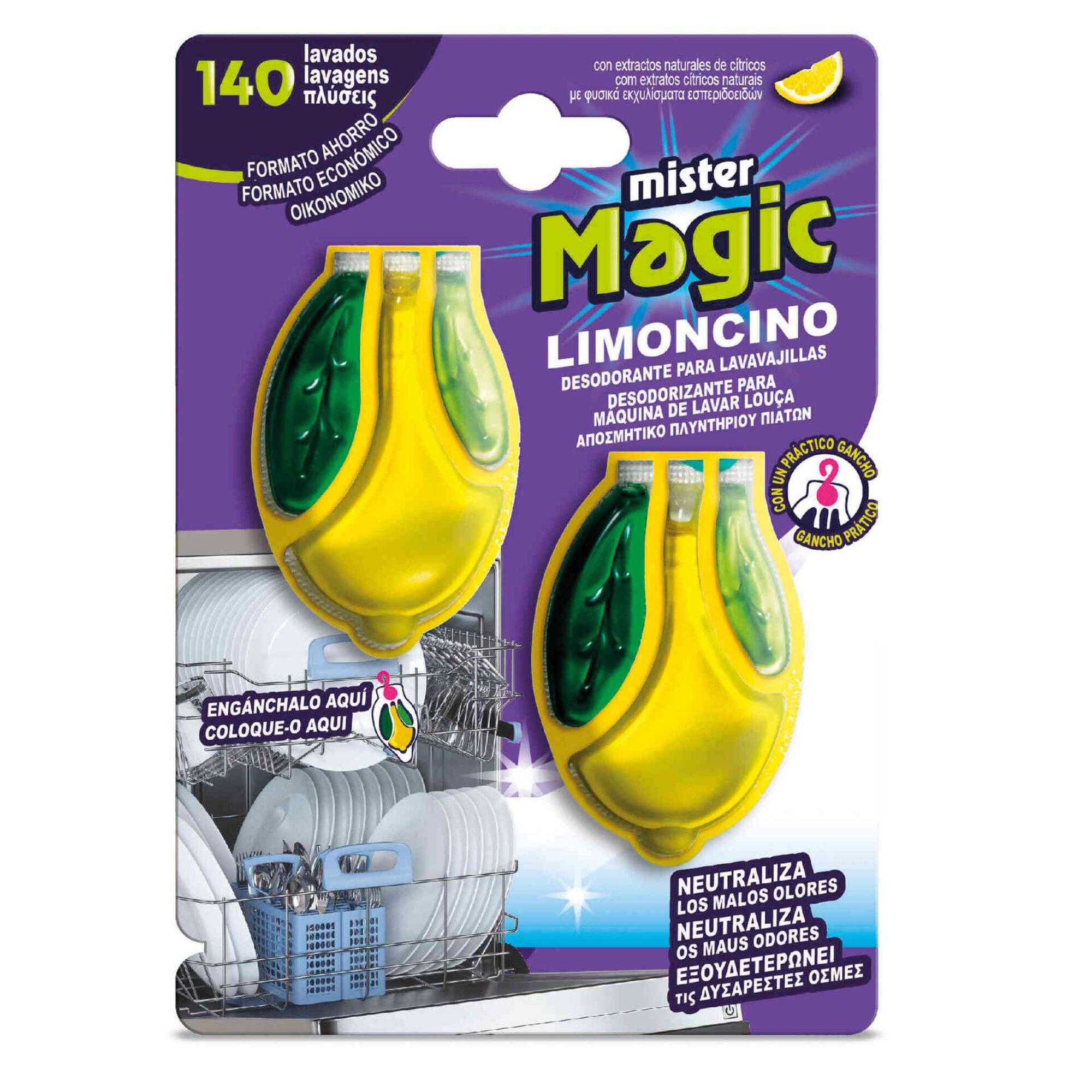 Desodorizante Máquina Loiça Limoncino