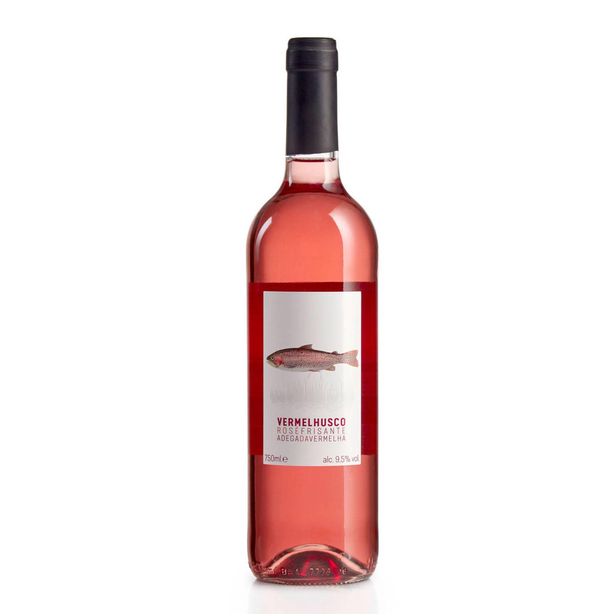 Vermelhusco Vinho Frisante Rosé
