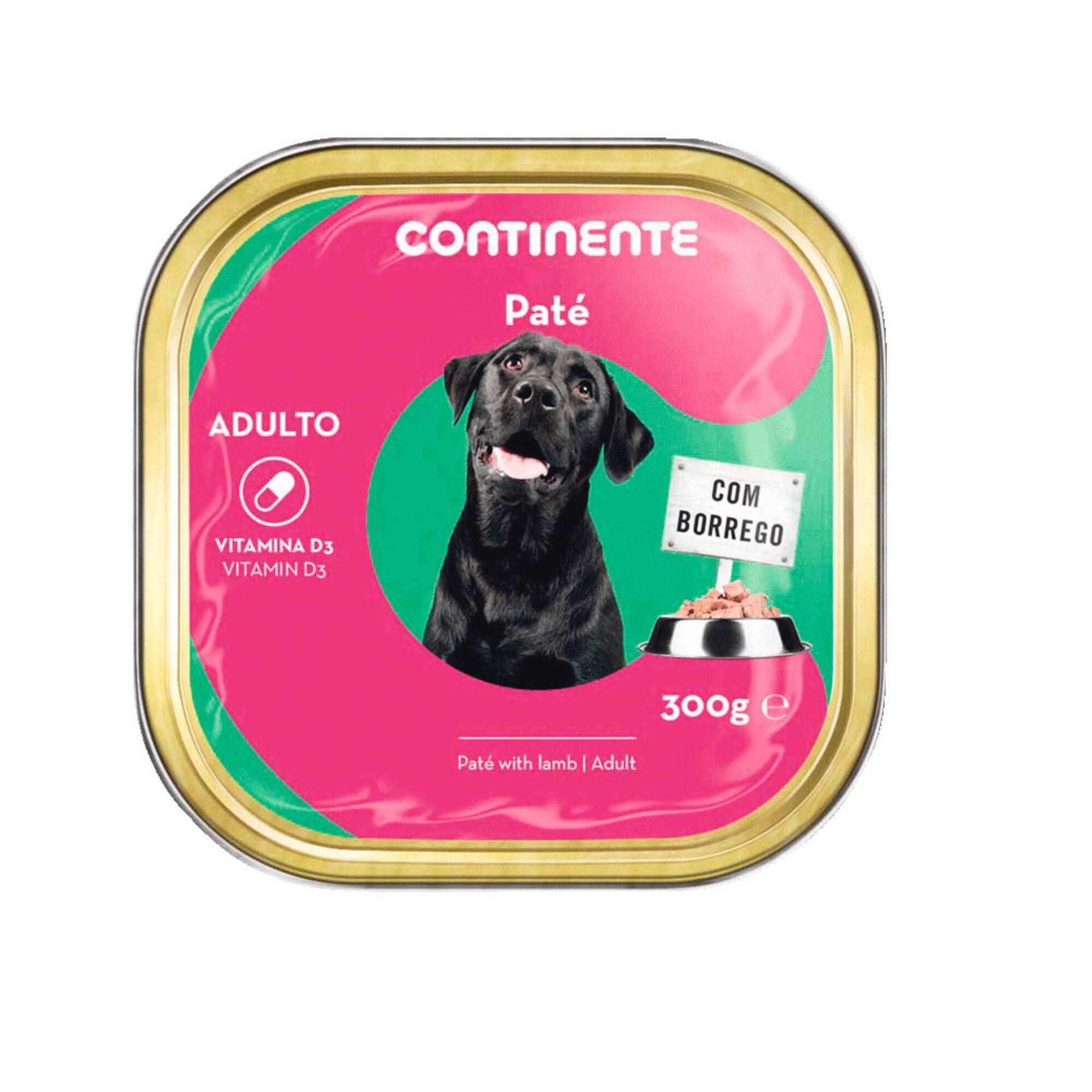 Comida Húmida Cão Adulto Patê Borrego