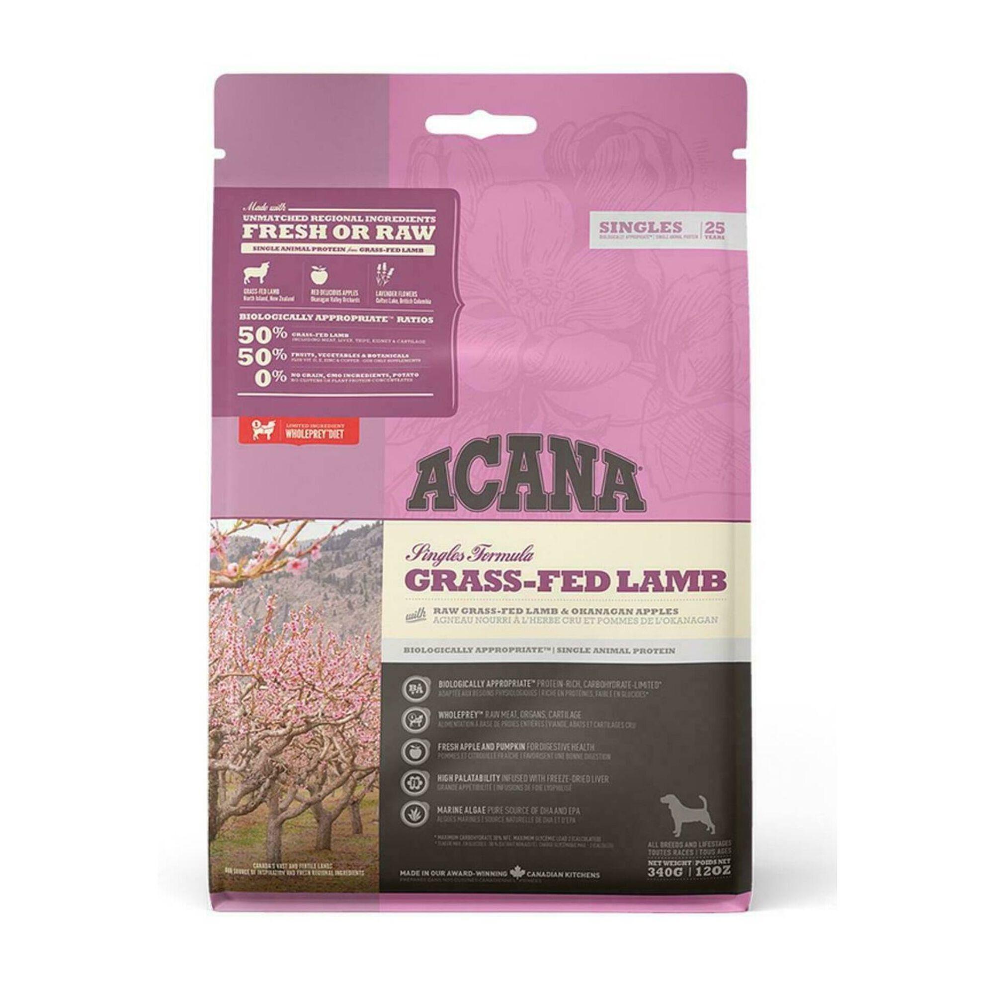 Ração para Cão Singles Grass-fed Lamb