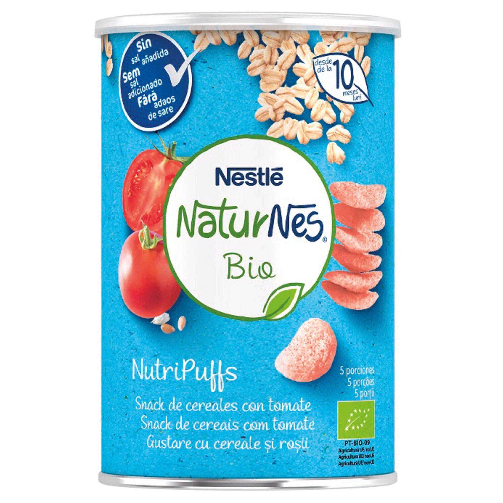 Snack para Bebé Tomate Naturnes Bio +10 Meses
