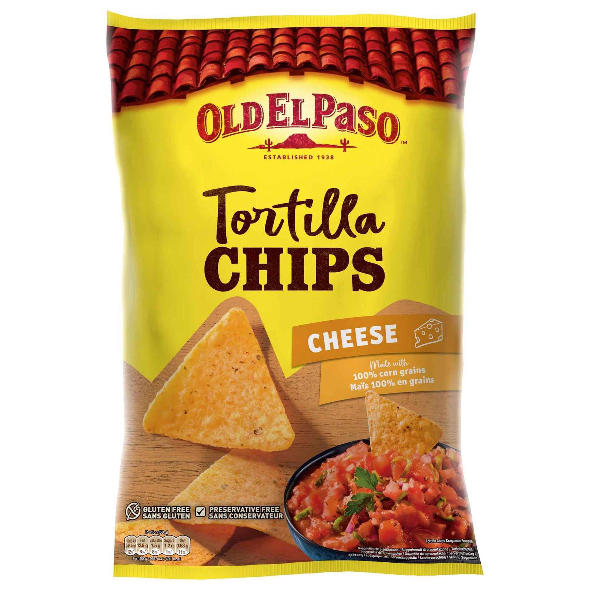 Snacks Tortilha Chips Sabor Queijo