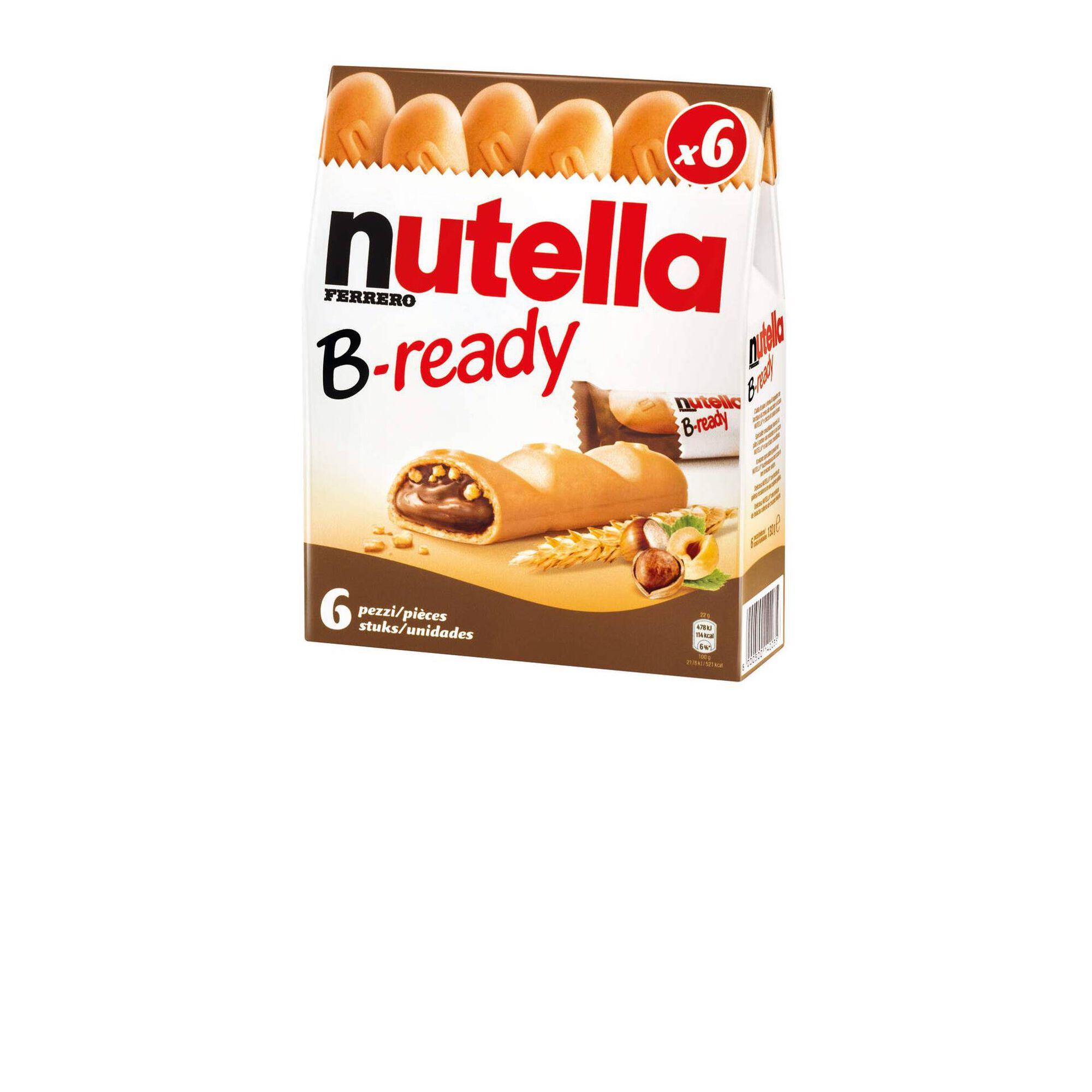 Bolachas Crocantes Recheadas com Chocolate B-Ready