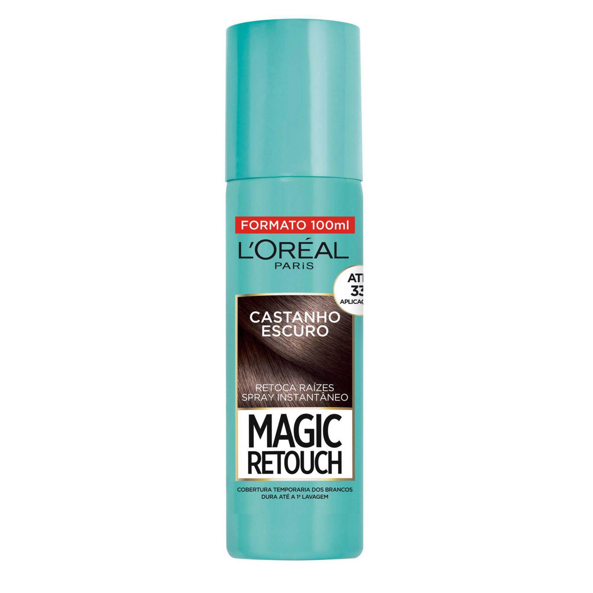 Coloração Retoca Raízes Magic Retouch Spray Castanho Escuro 2