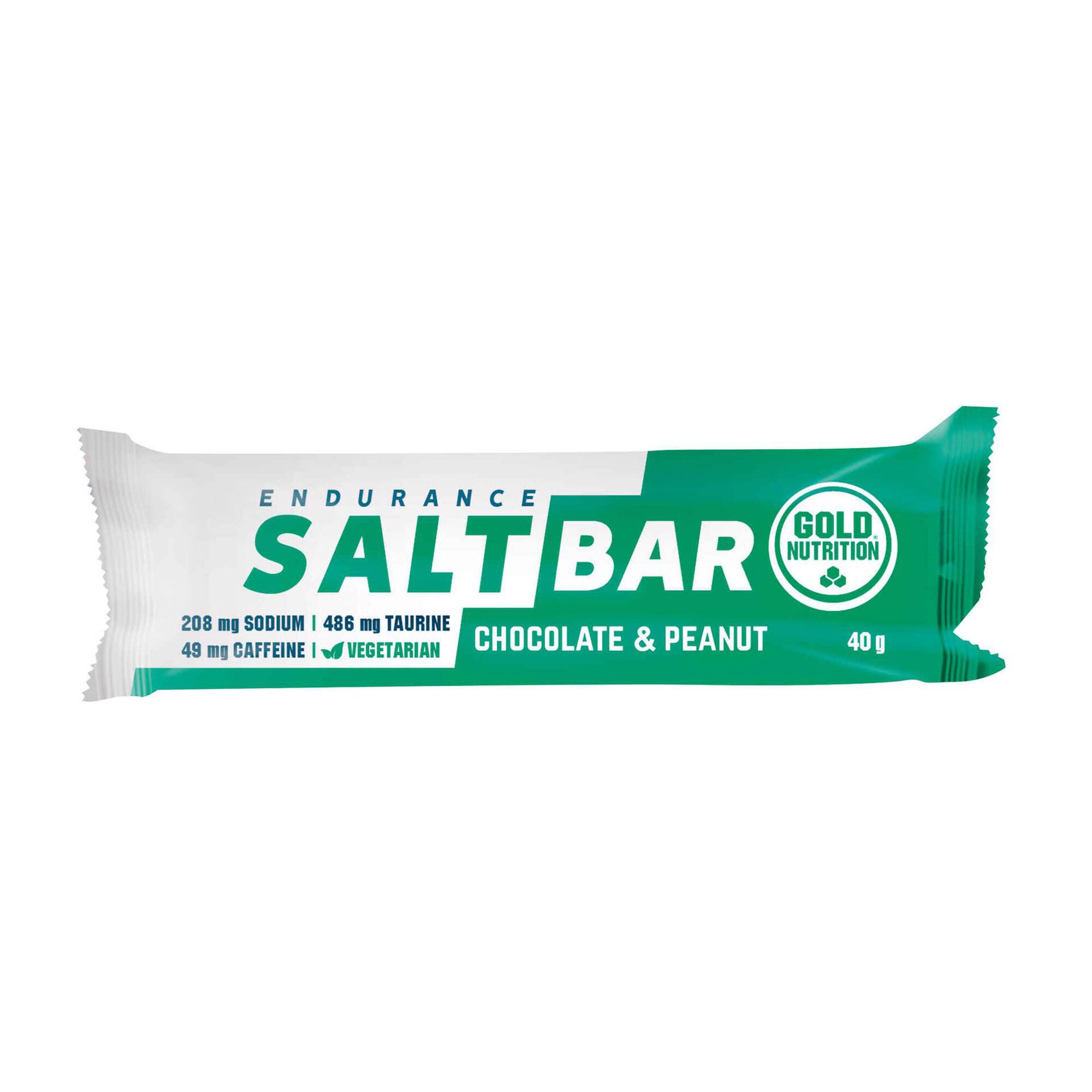 Barra Endurance Salt Bar Chocolate e Amendoins