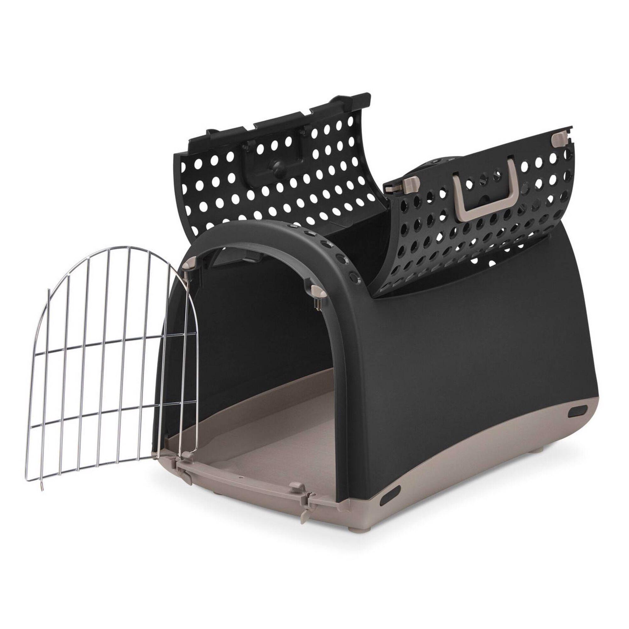 Transportadora para Cão Linus Cabrio Castanho