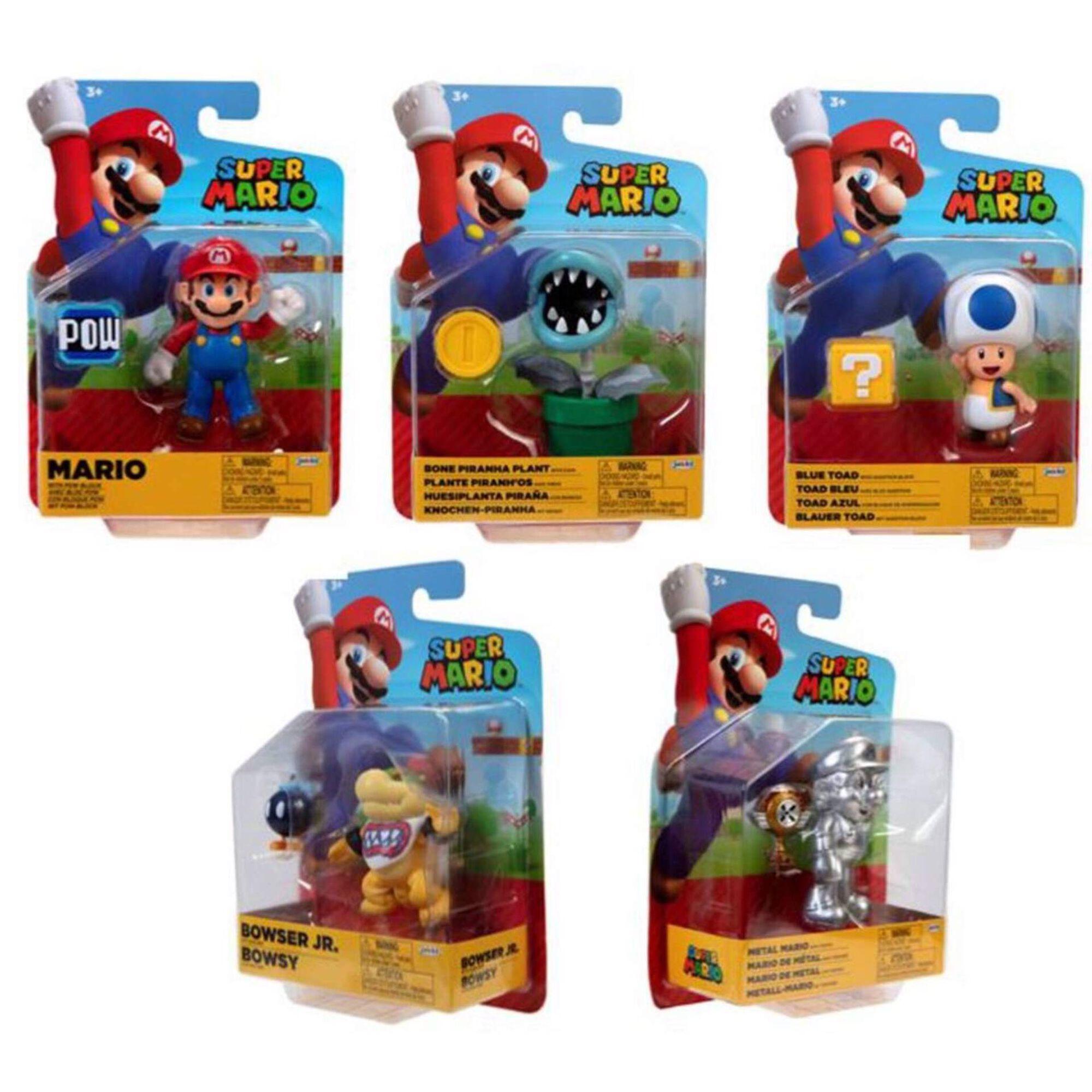 Figuras Básicas Super Mário (vários modelos)