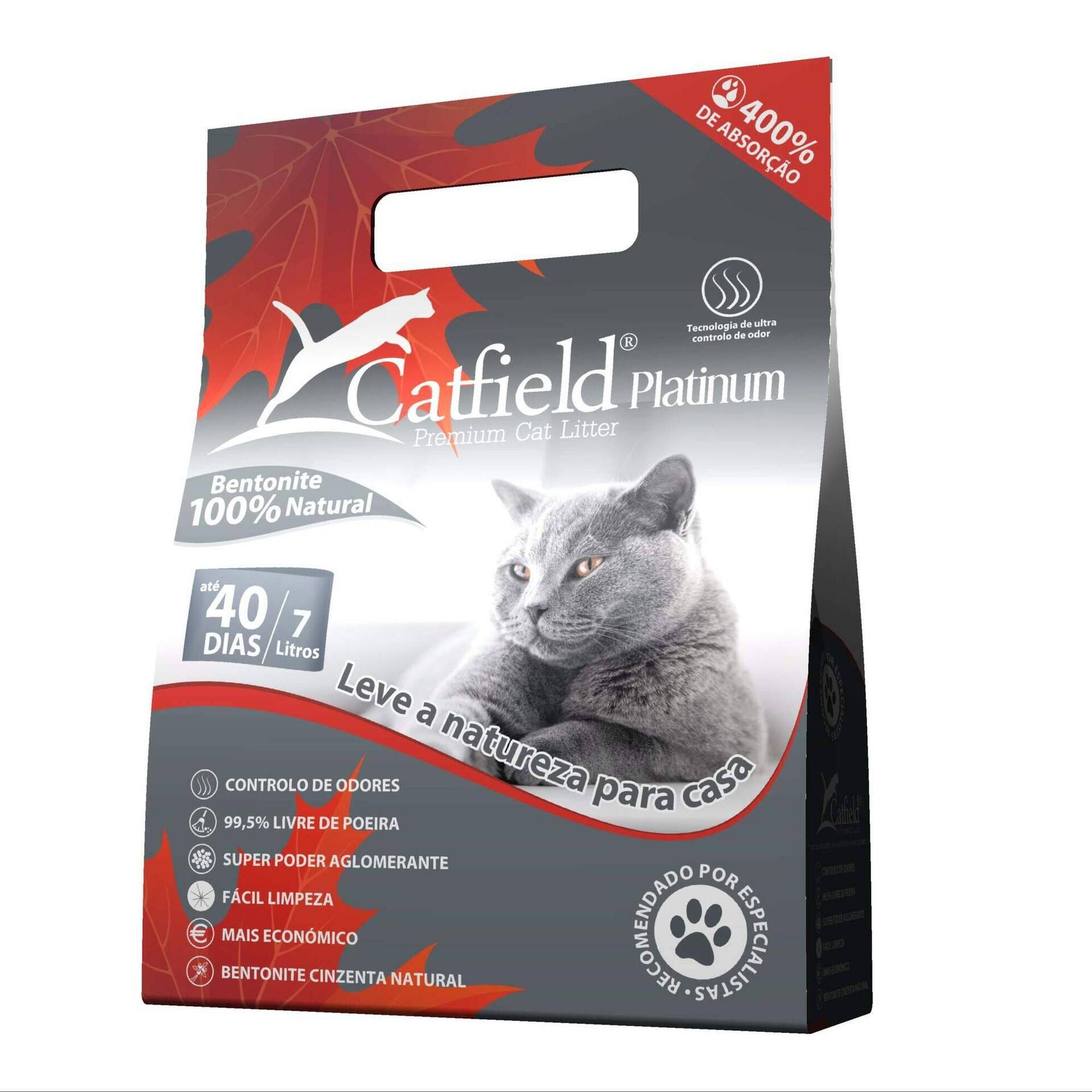 Absorvente para Gato Bentonite Aglomerante Natural