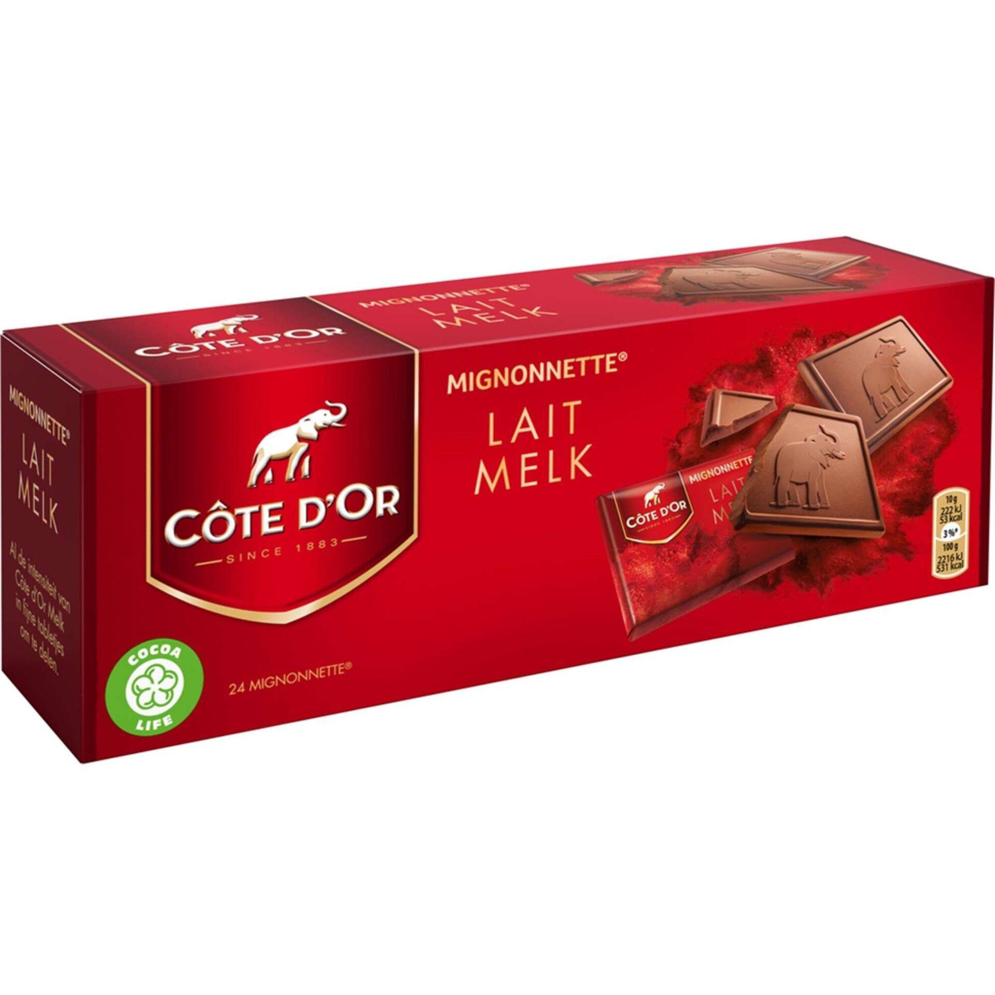 Bombons de Chocolate Mignonette Chocolate de Leite
