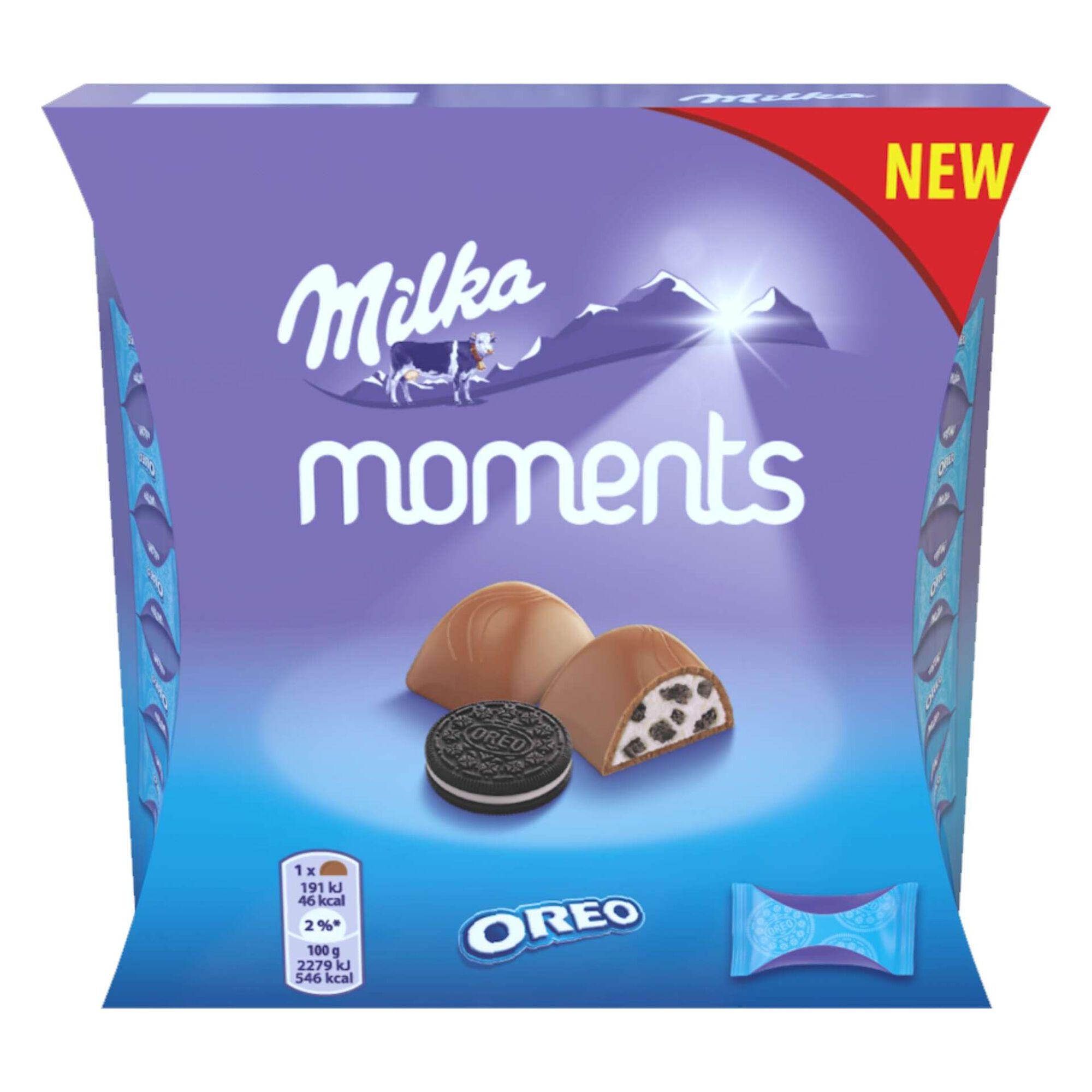 Snack de Chocolate Moments Oreo