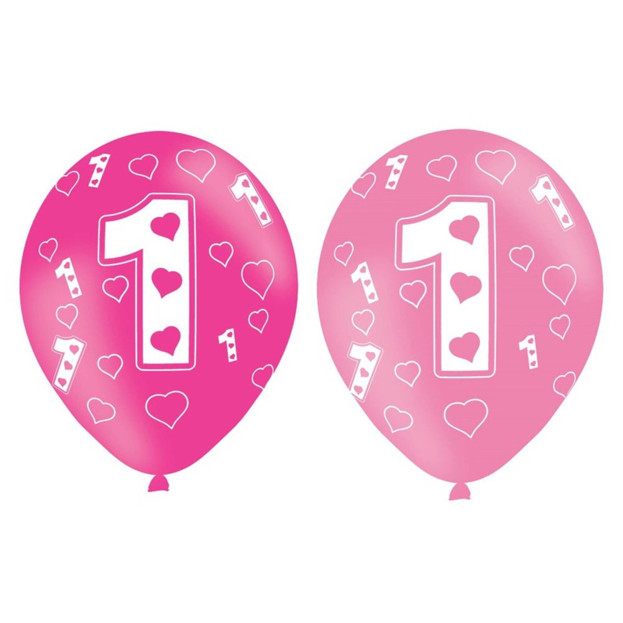 Balões Nº1 Rosa