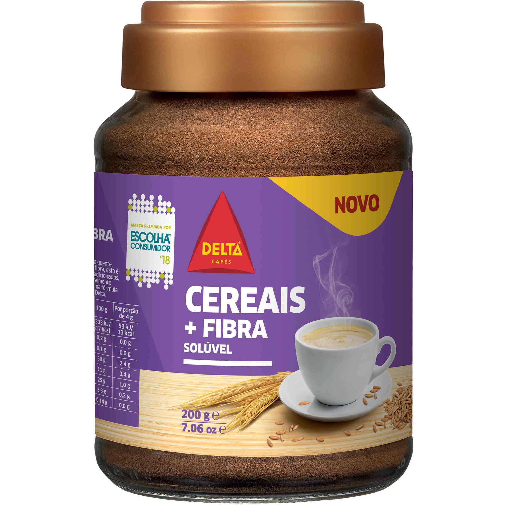 Bebida Cereais e Fibra Solúvel