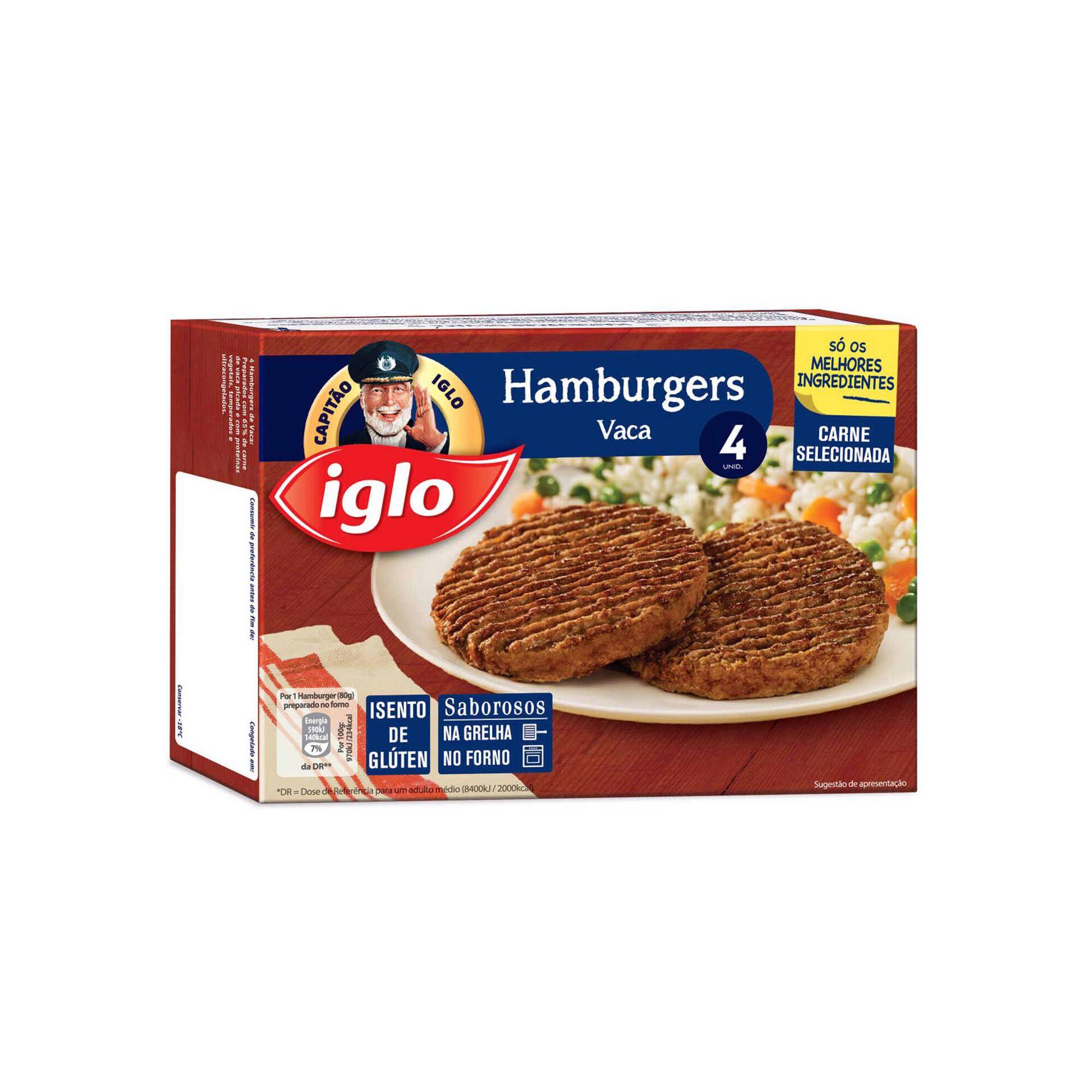 Hambúrgueres de Vaca Sem Glúten