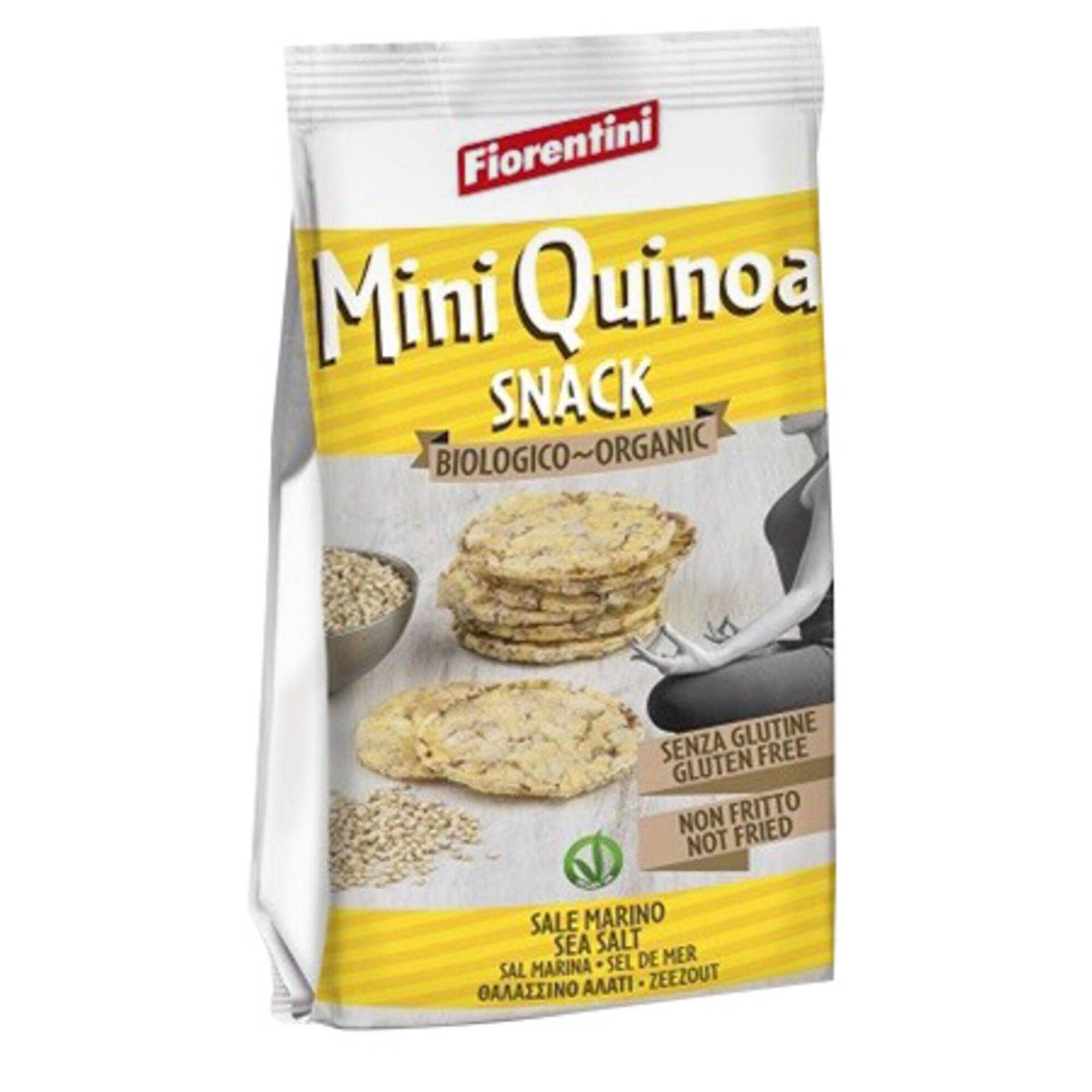 Snack Mini de Milho e Quinoa sem Glúten Biológico