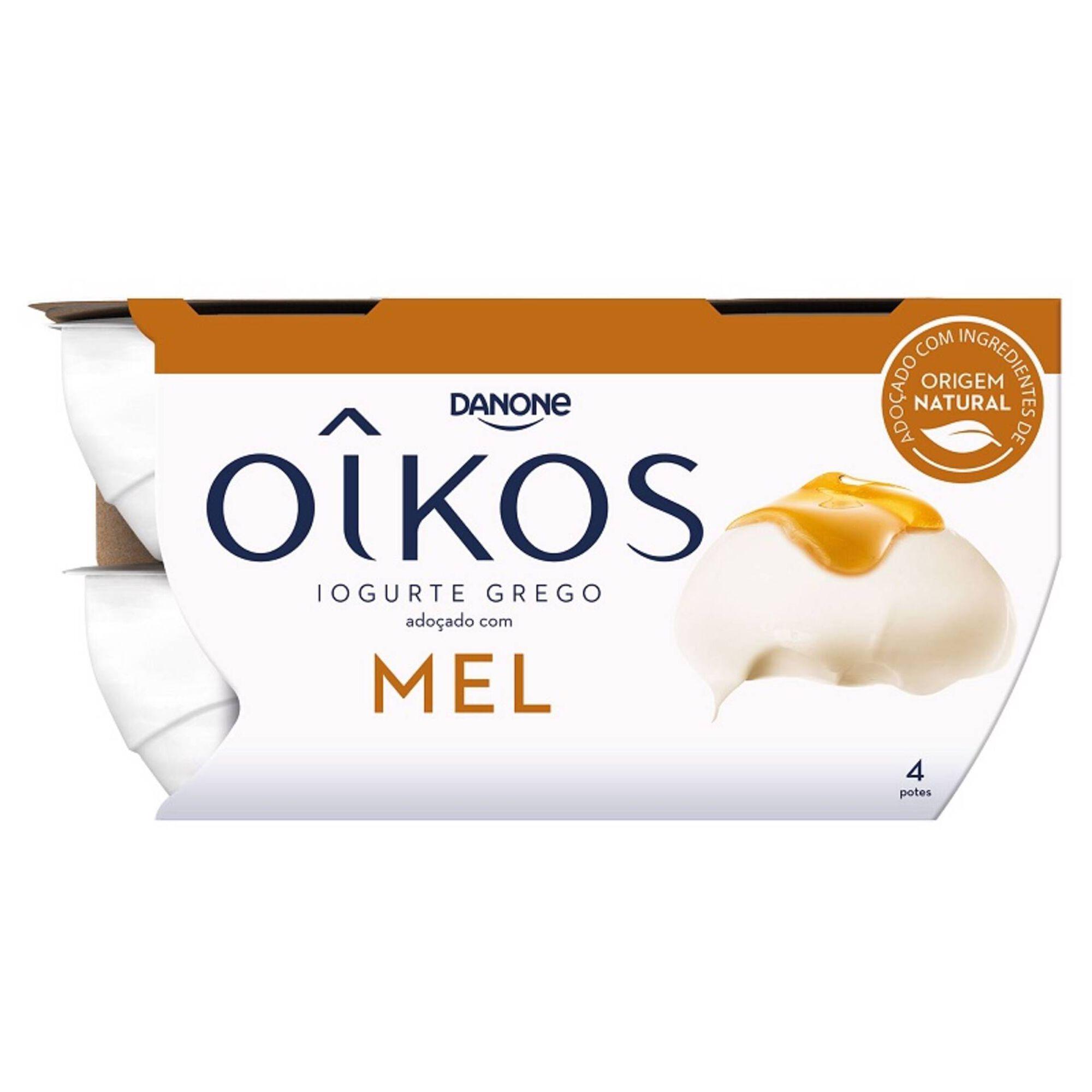 Iogurte Grego Oikos Mel