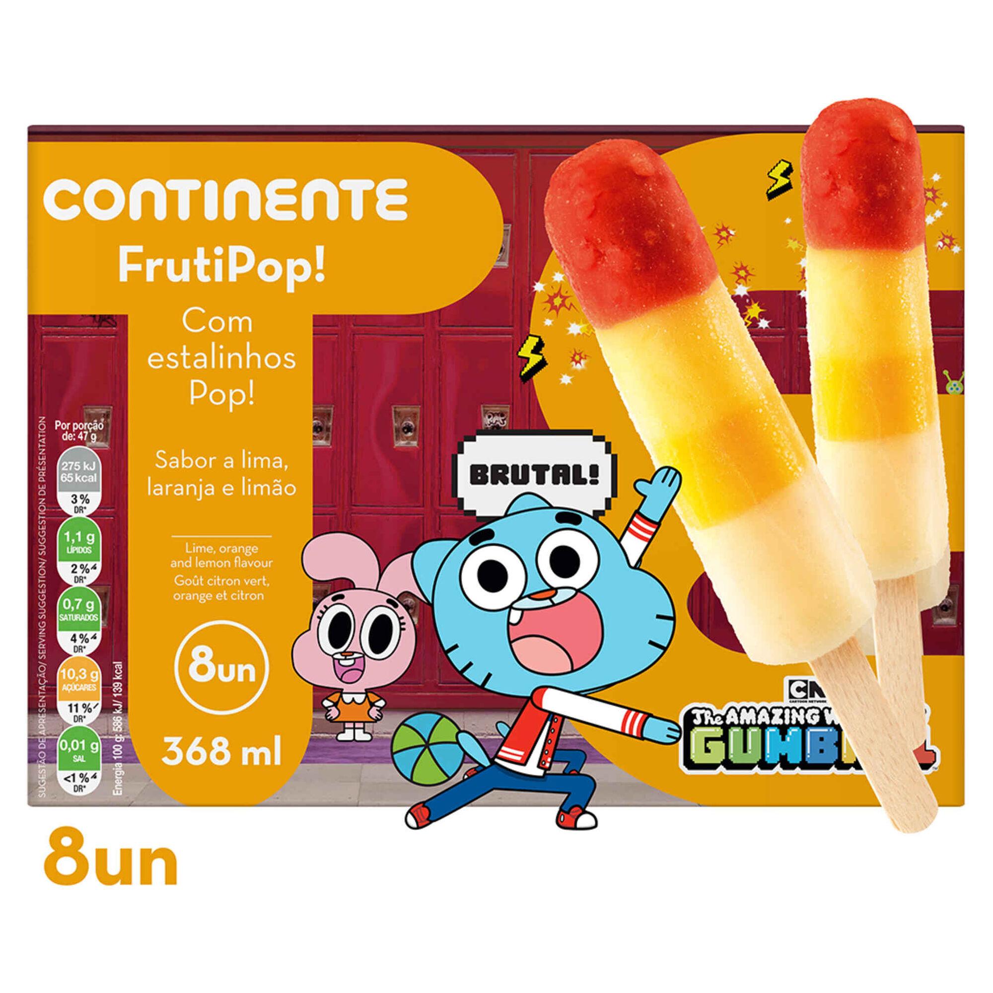 Gelado Frutipop