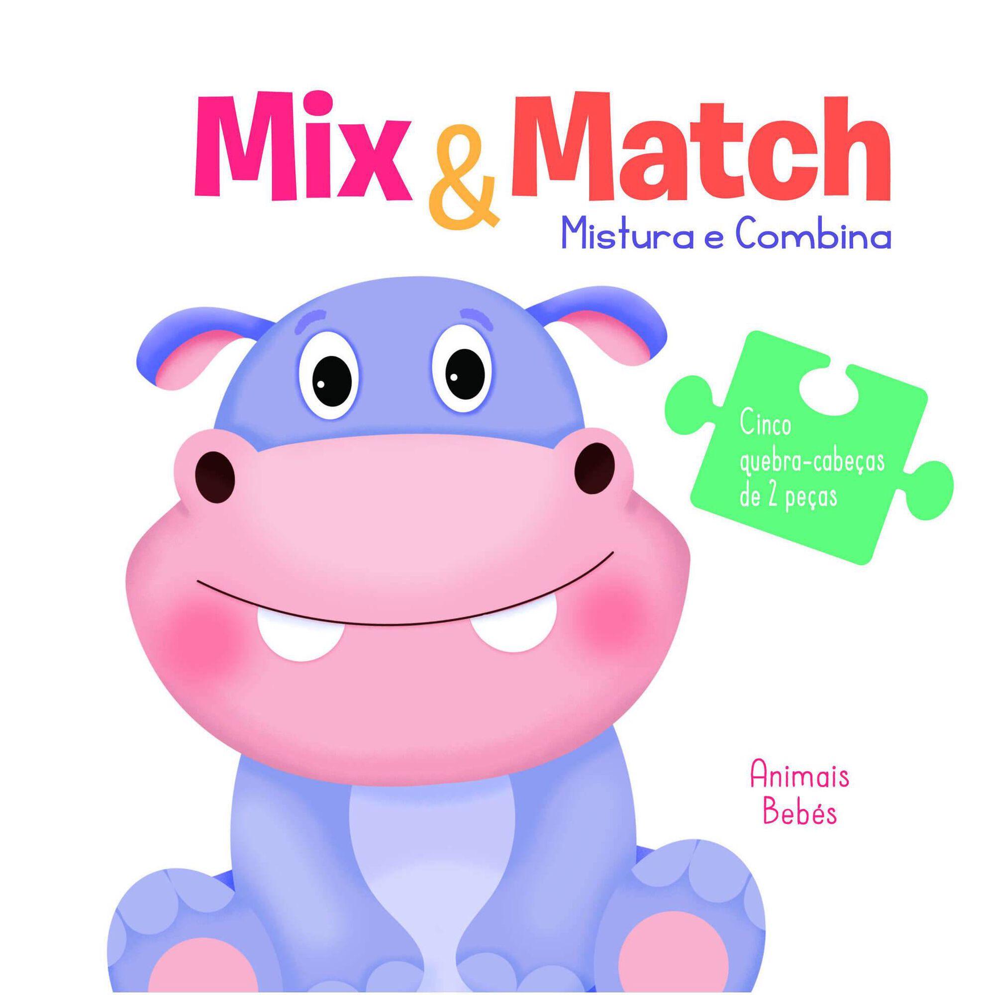 Mistura e Combina - Animais Bebés