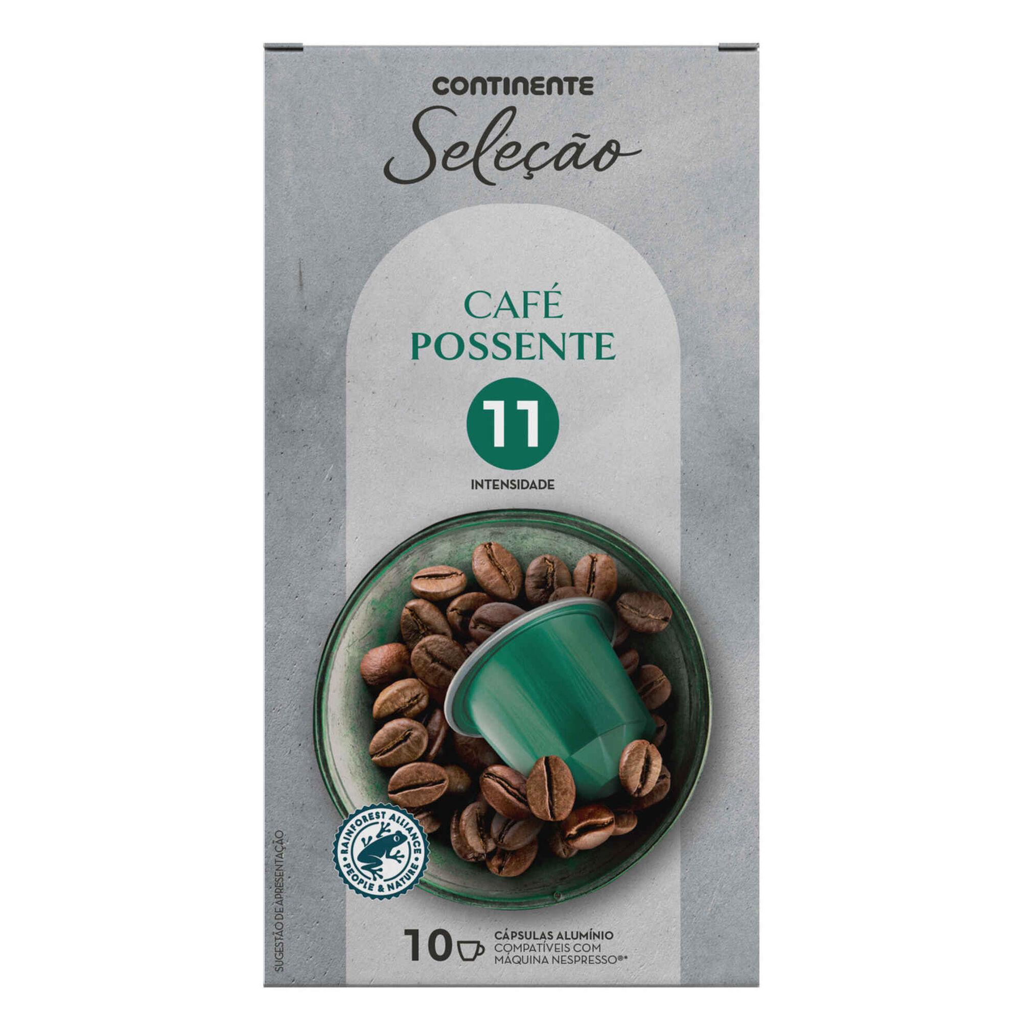 Cápsulas de Café Possente Compatível com Nespresso Int 11