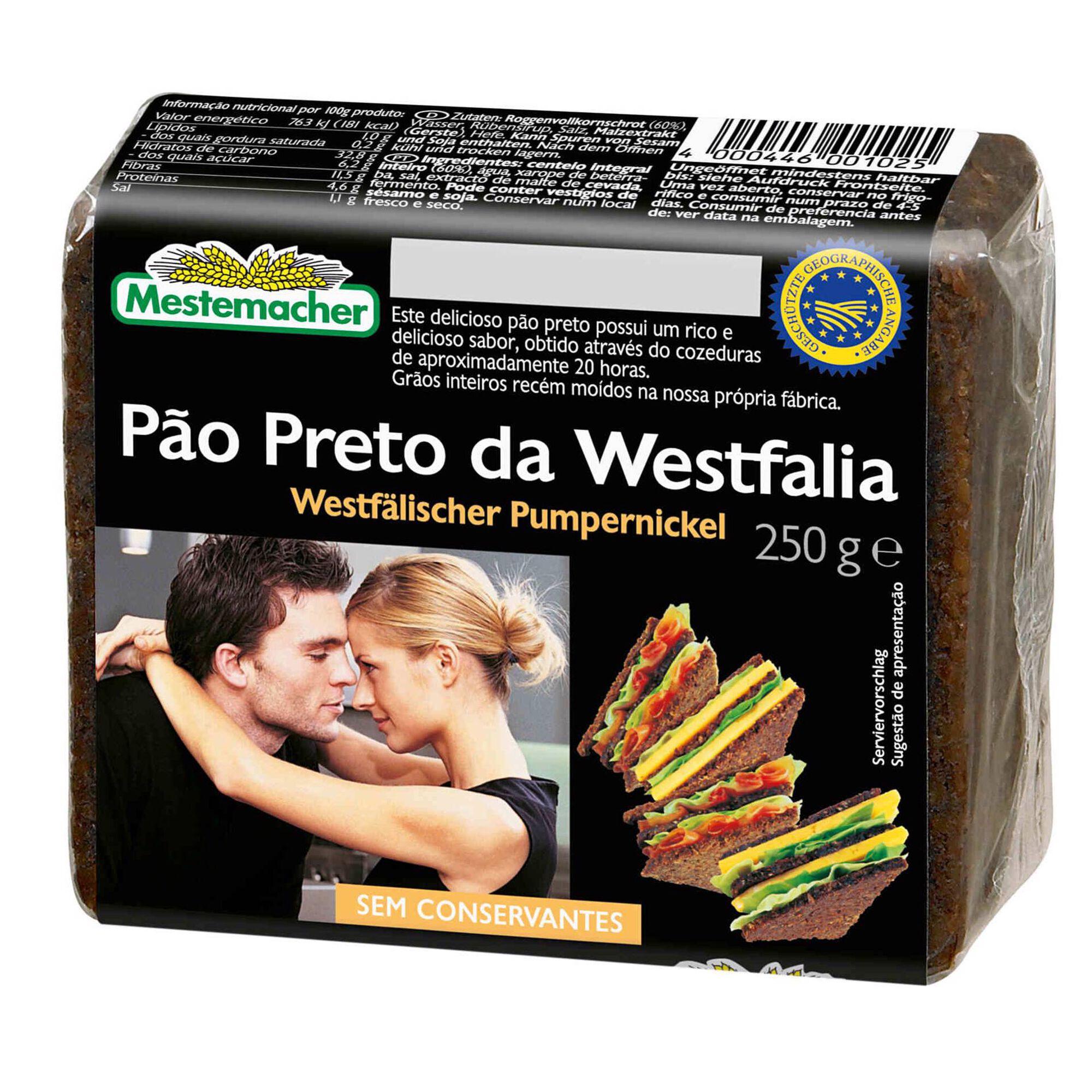Pão Preto Westfalia, , hi-res