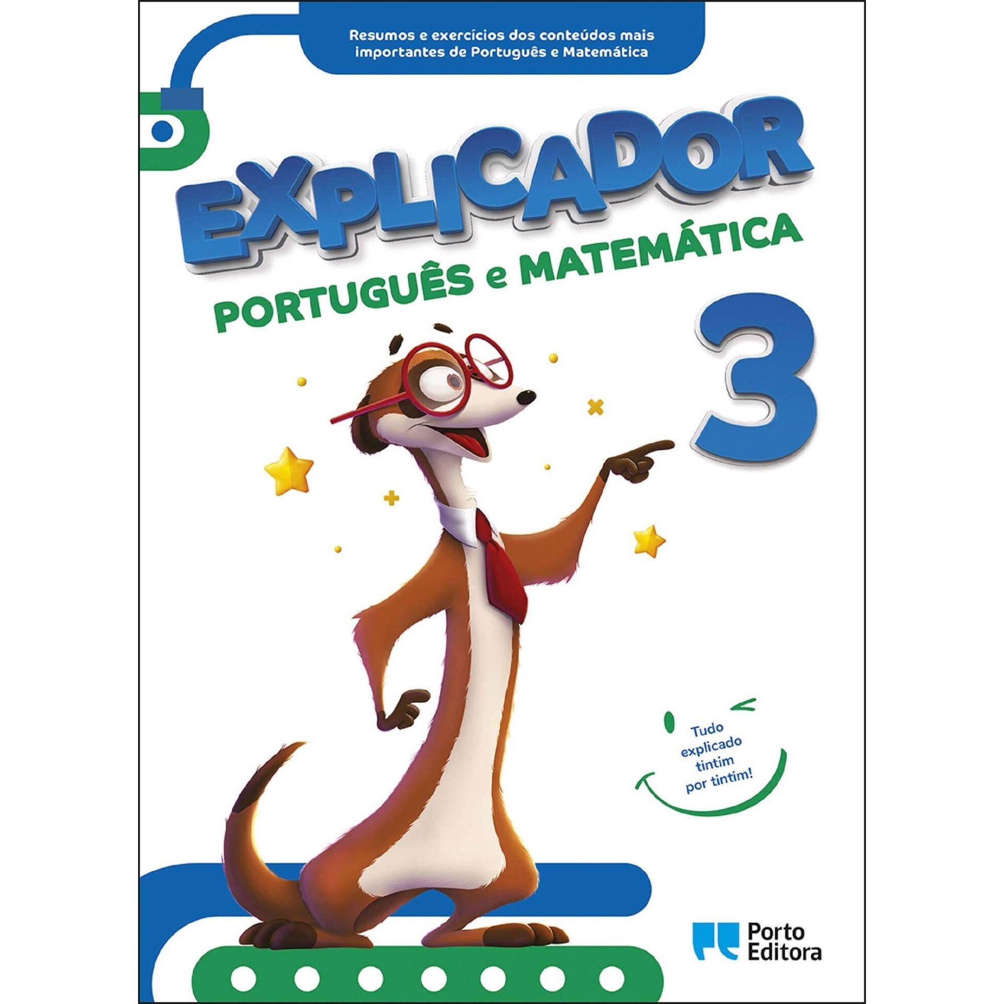 Explicador 3 - Português e Matemática - 3º Ano