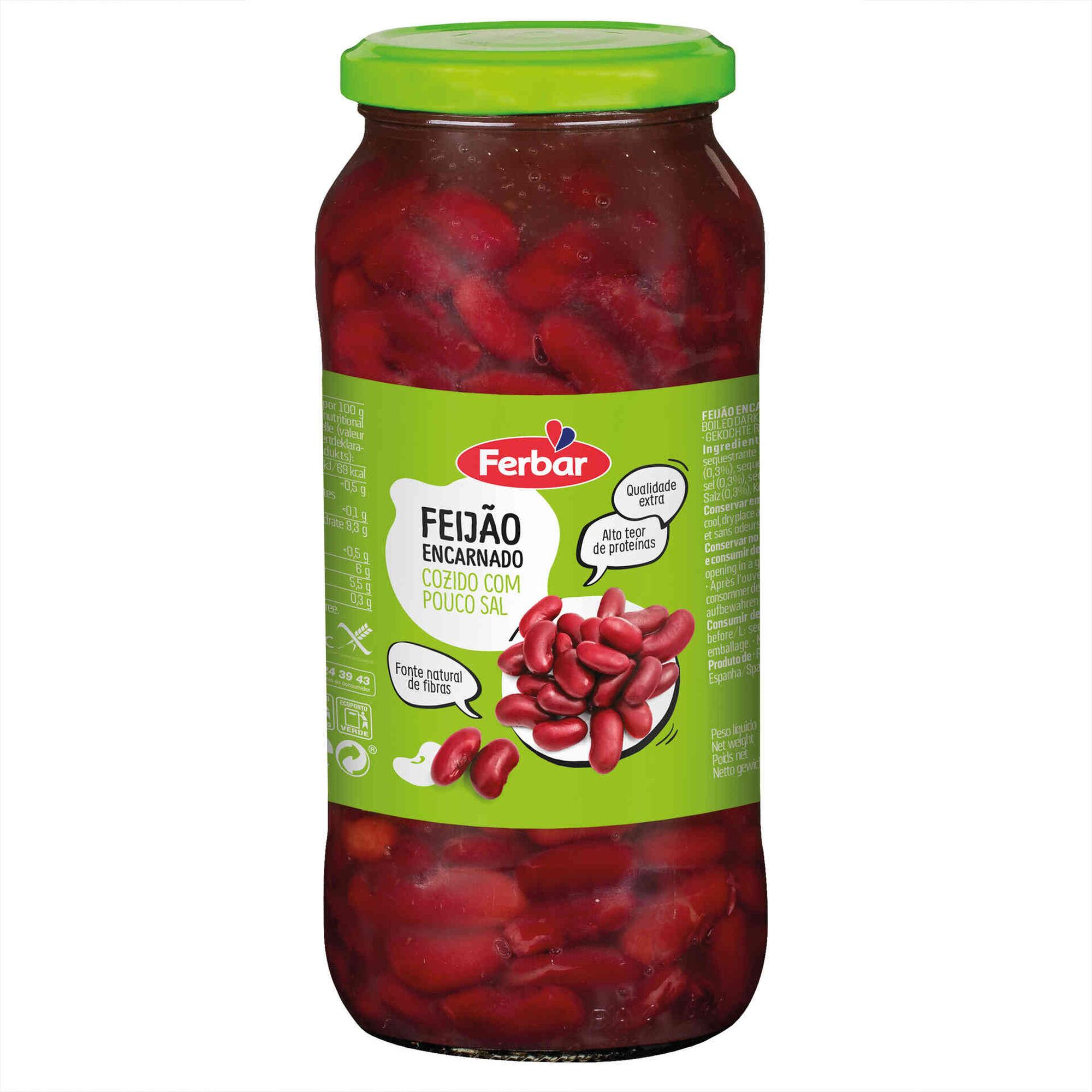 Feijão Vermelho Cozido