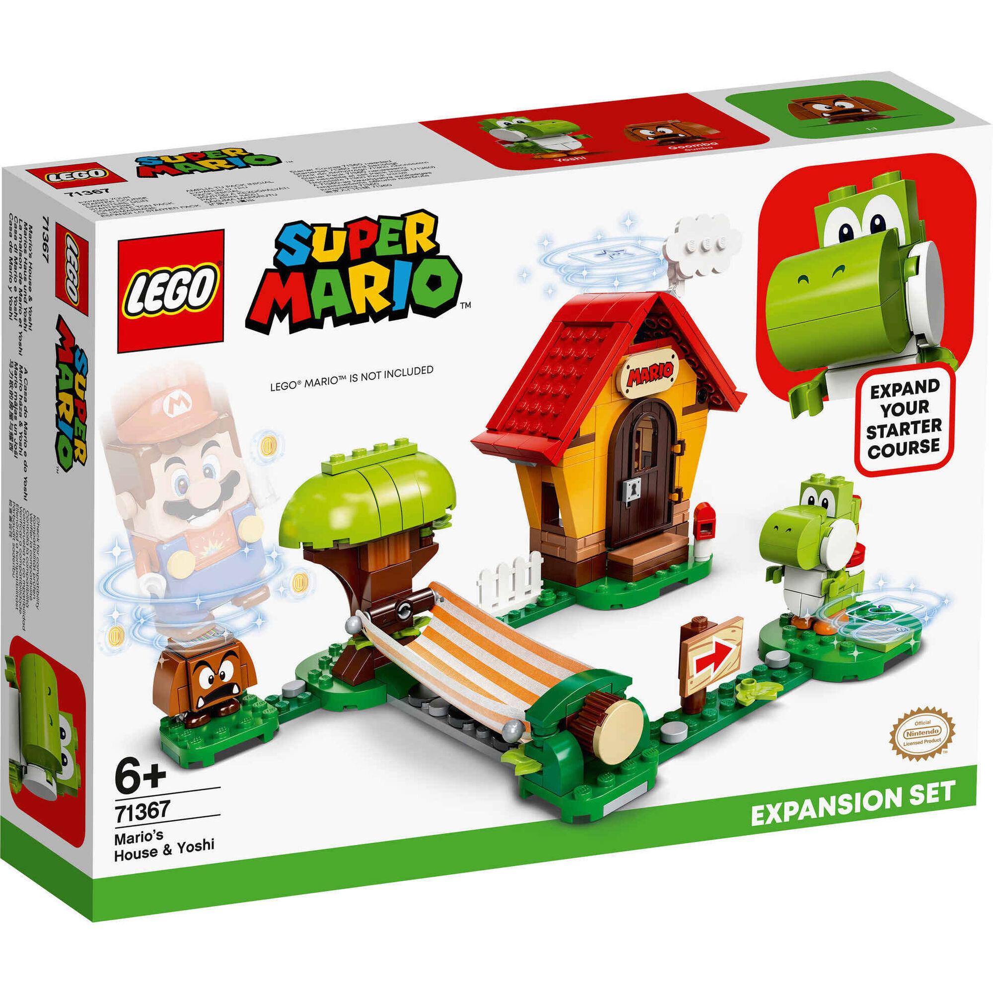 Set de Expansão: A Casa do Mario e do Yoshi - 71367