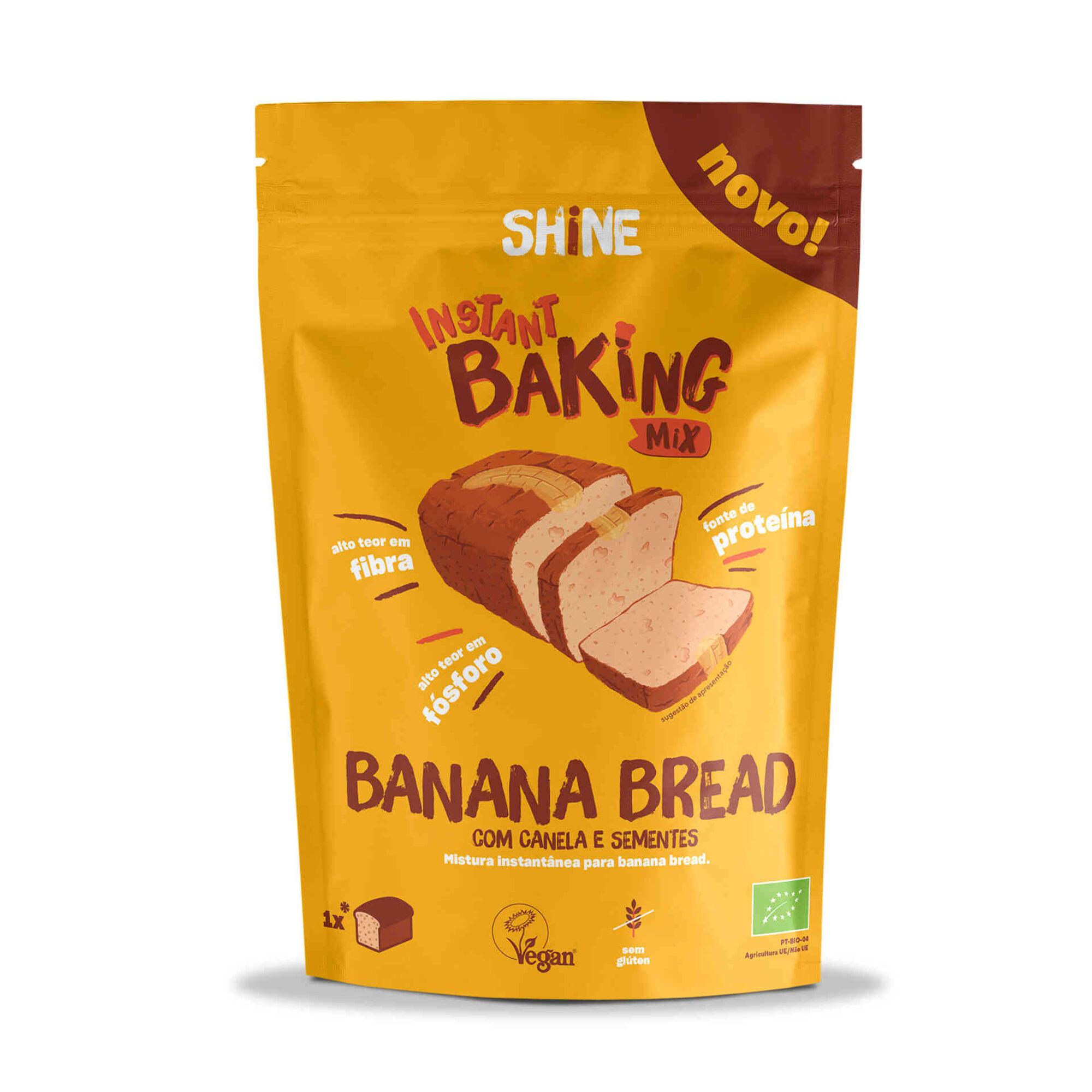 Mistura para Banana Bread com Canela e Sementes sem Glúten, , hi-res