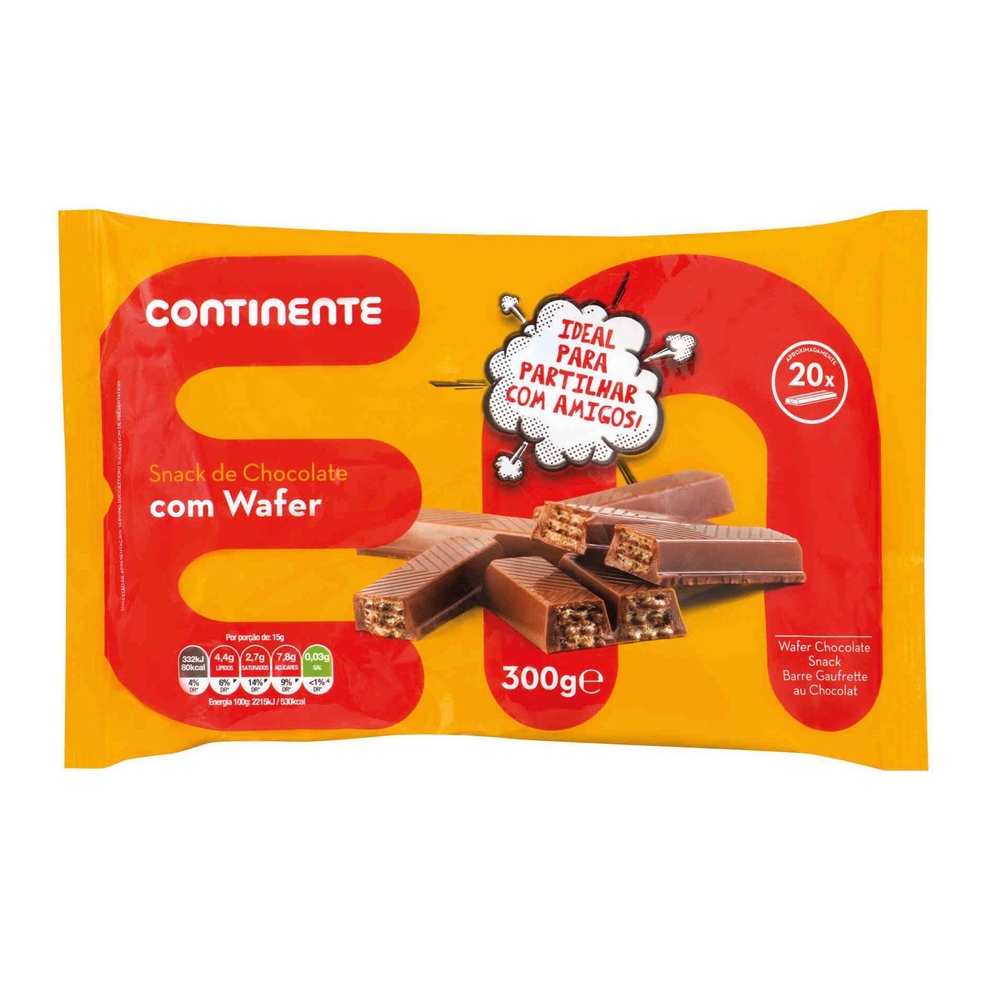 Snack de Chocolate Wafer Minis, , hi-res