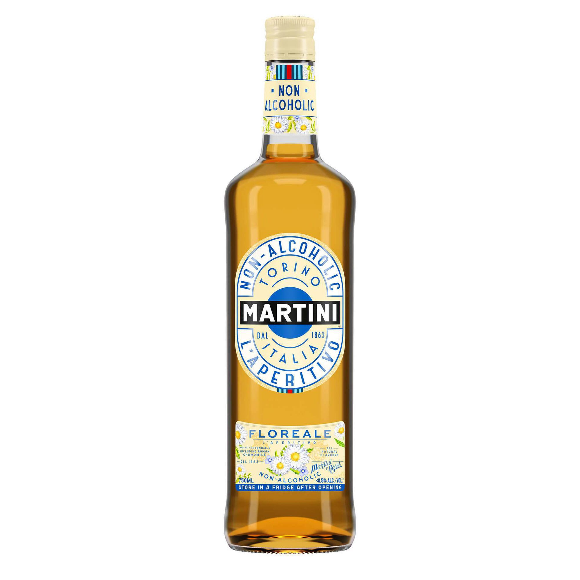 Aperitivo Martini Floreale sem Álcool