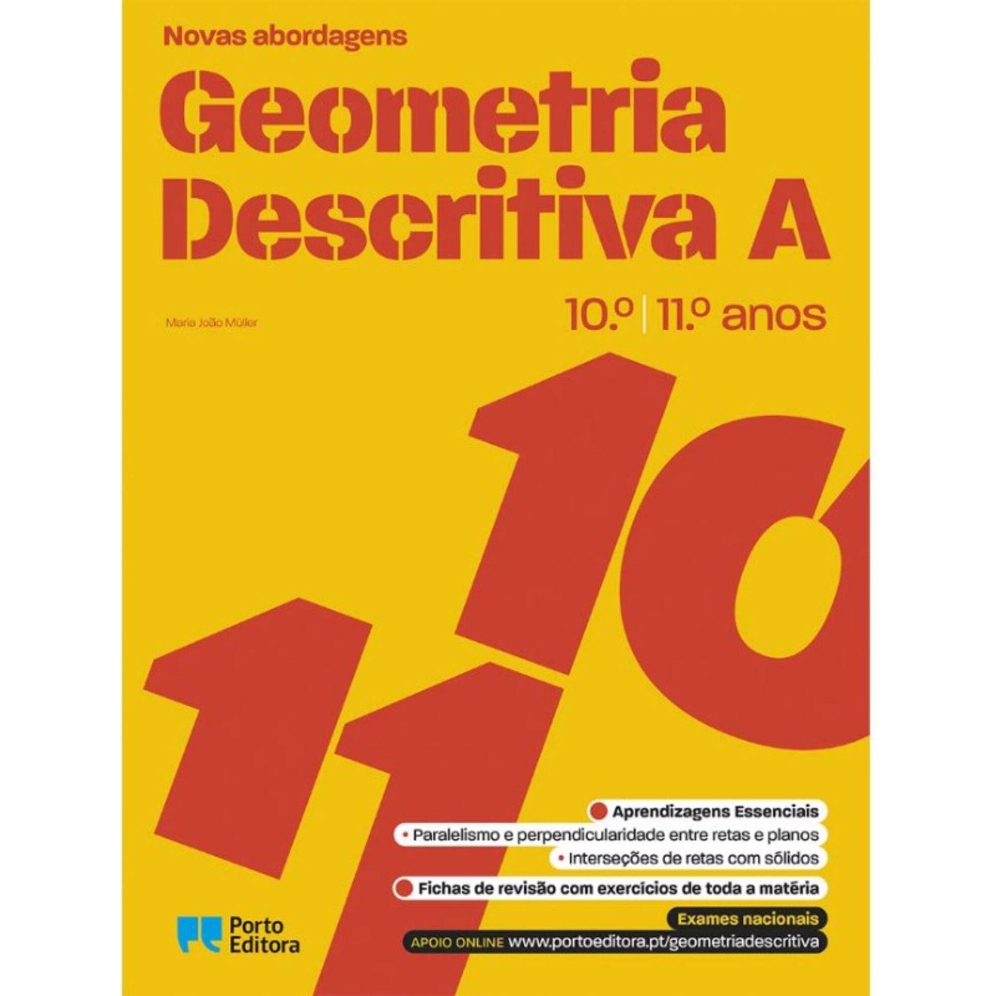 Novas Abordagens - Geometria Descritiva A - 10º e 11º Ano
