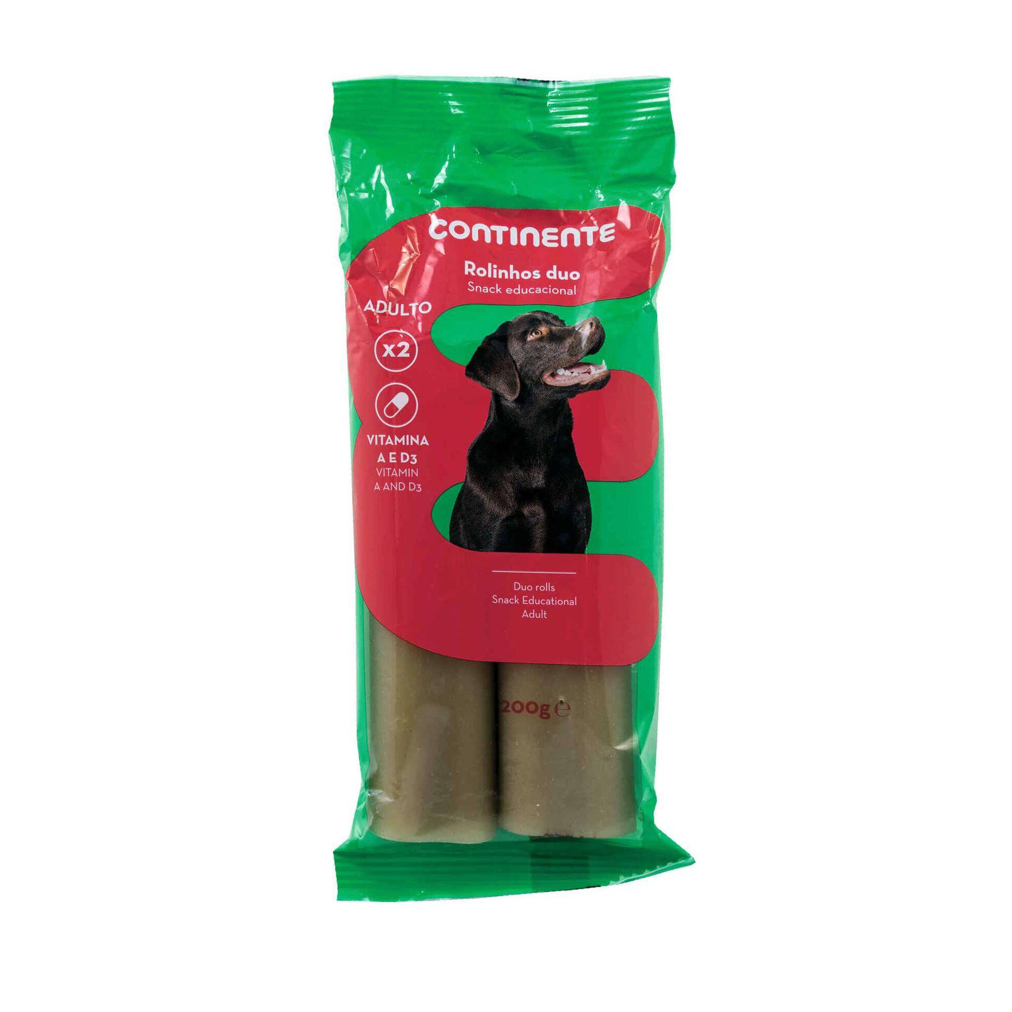 Snack para Cão Adulto Rolinhos Duo