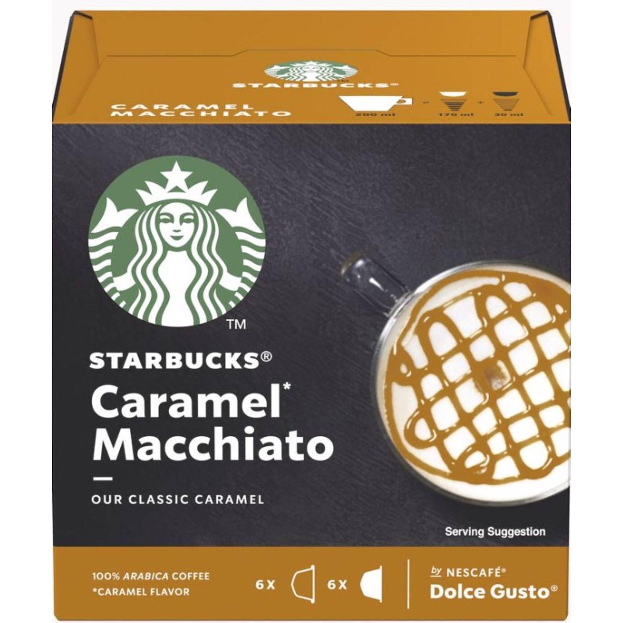 Cápsulas de Café Caramel Macchiato Compatível com Dolce Gusto