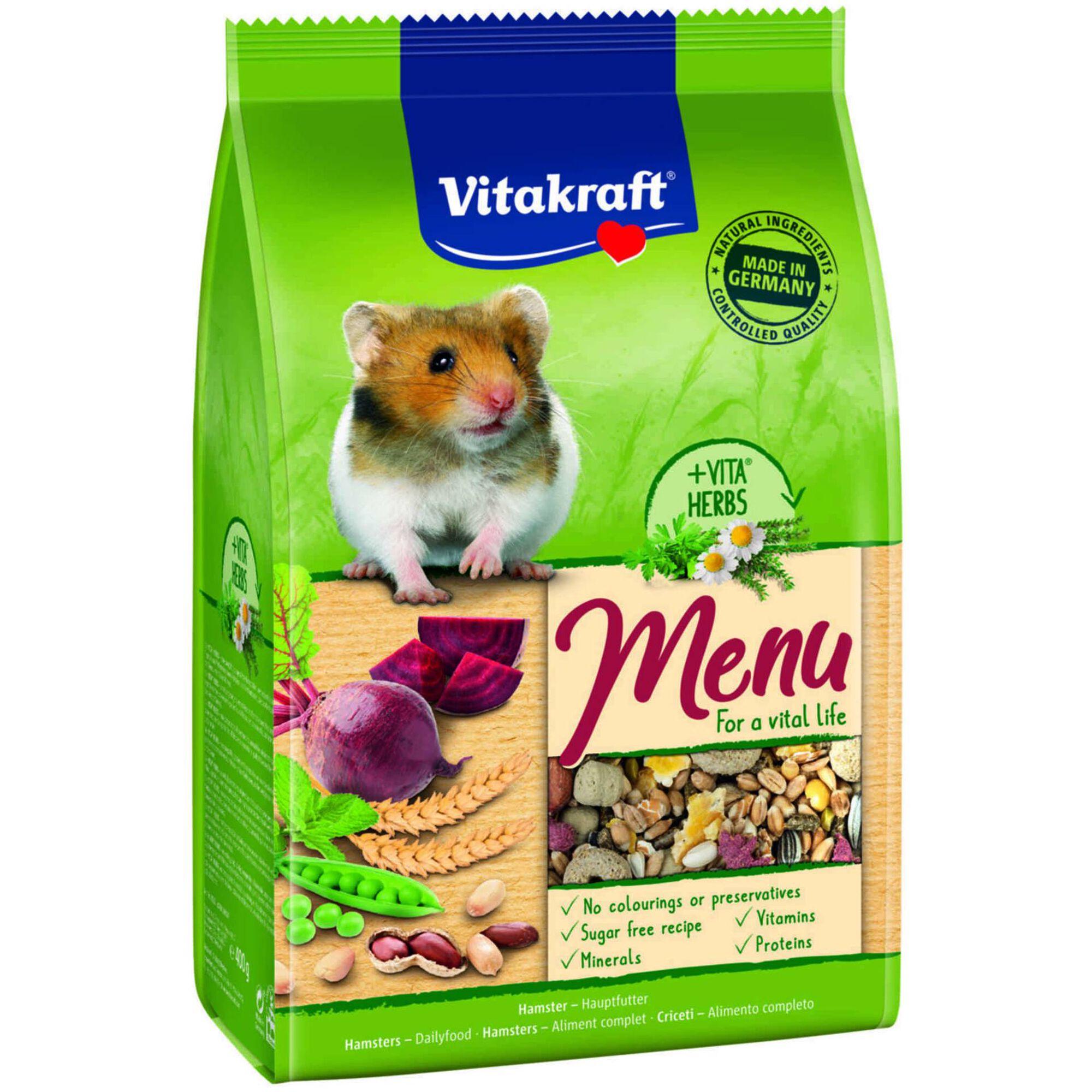 Comida para Hamster Menu