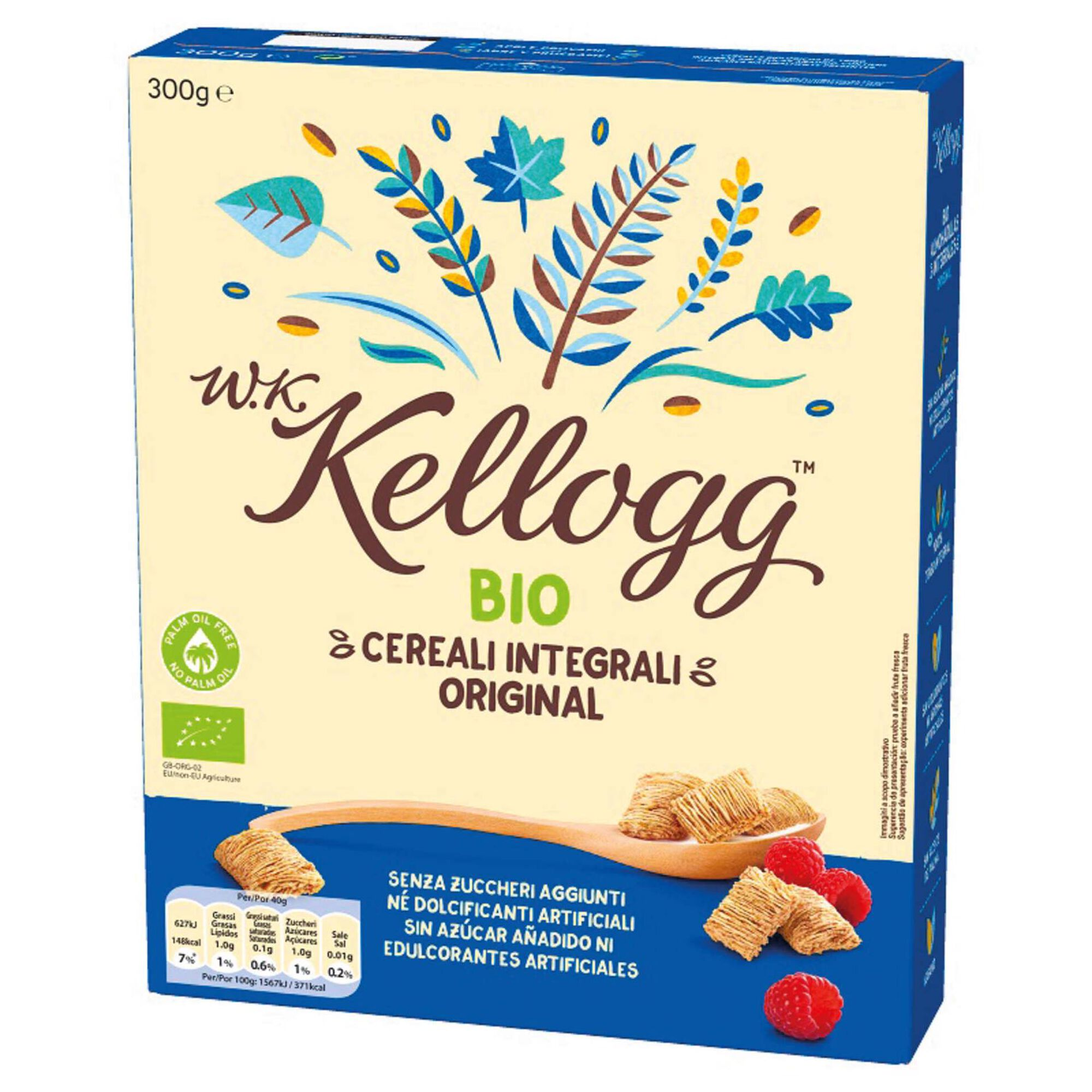 Cereais Integrais Original sem Açúcar Biológicos
