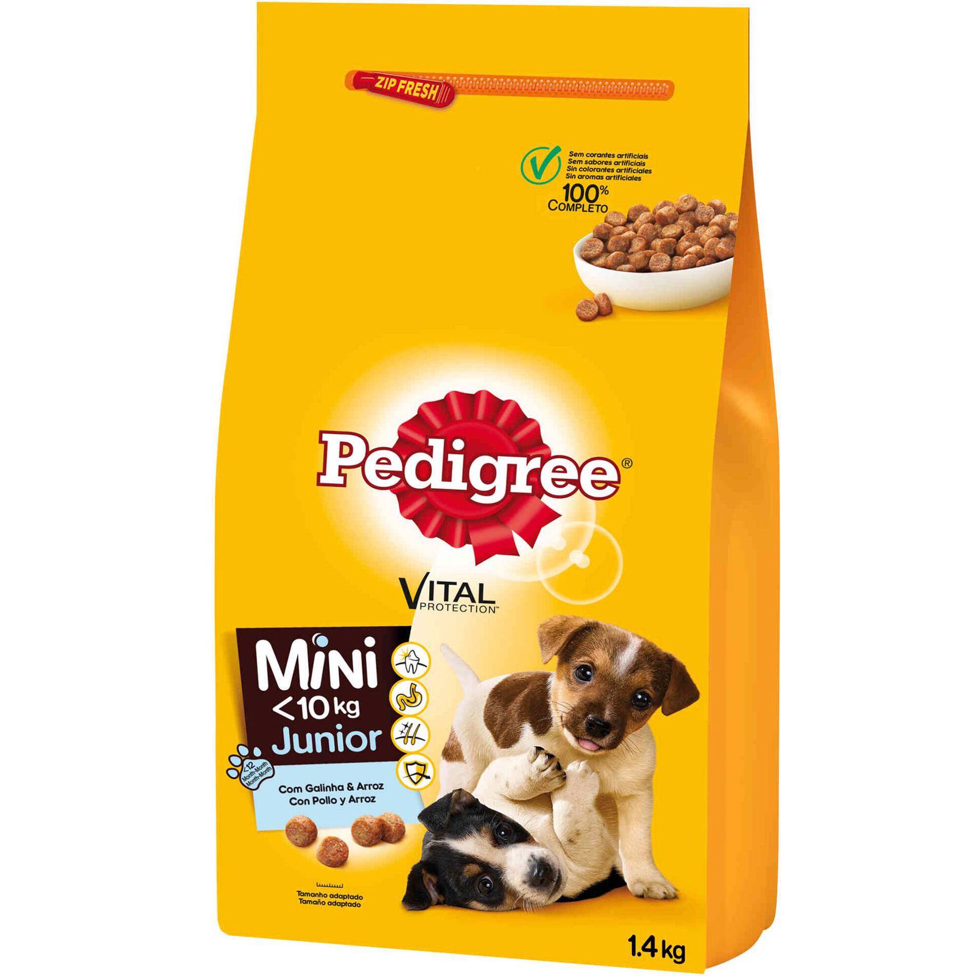 Ração para Cão Júnior Mini Frango e Arroz