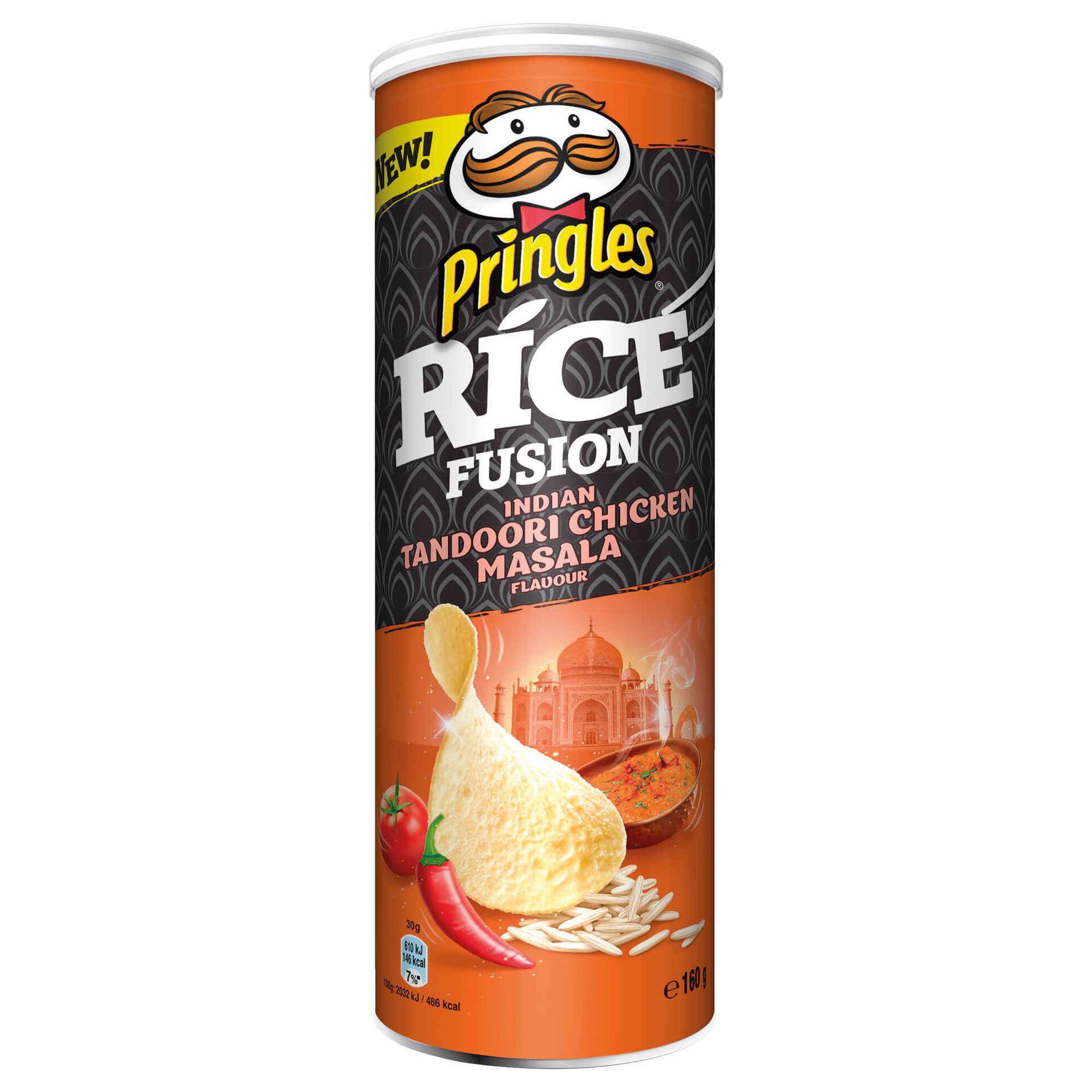 Snack Batata Rice Fusion Indian Tandoori sabor Chicken Masala