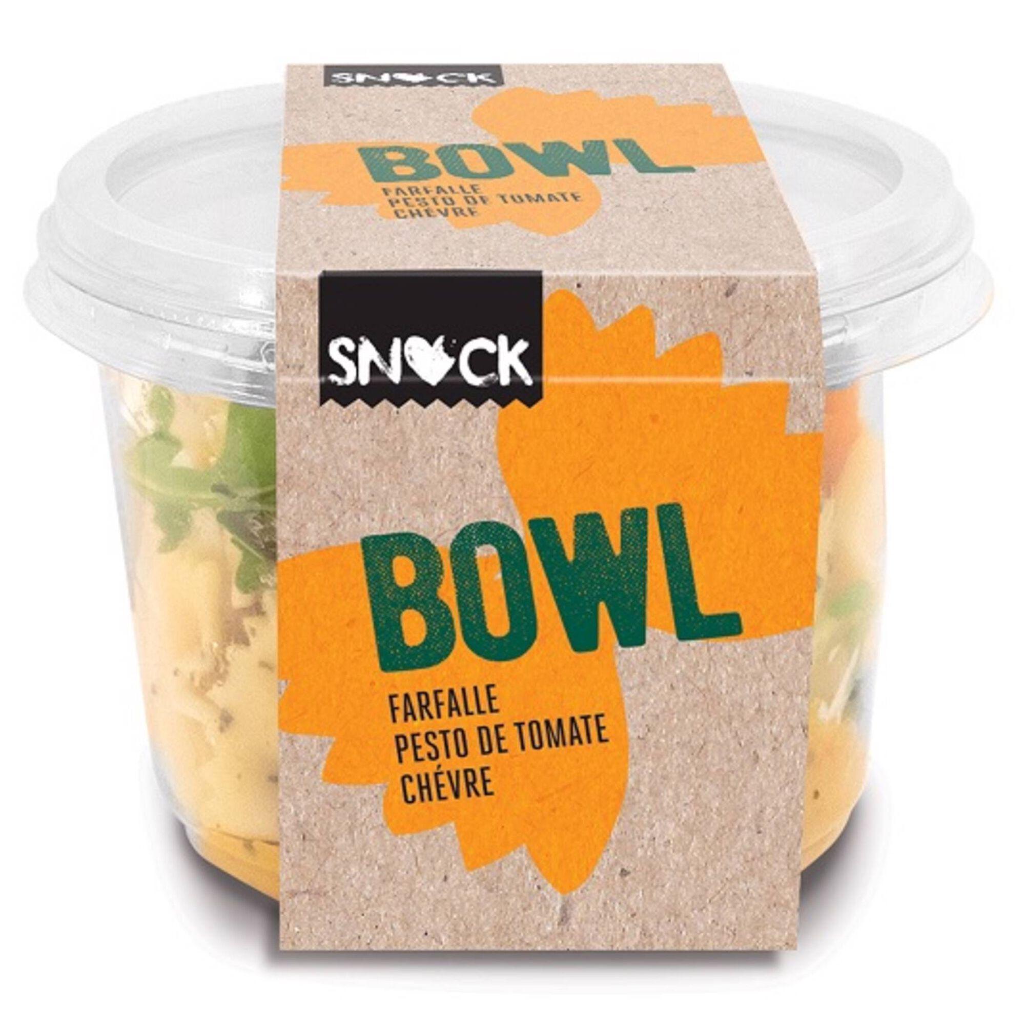 Salada Bowl Massa Farfal, Pesto e Tomate Chevre
