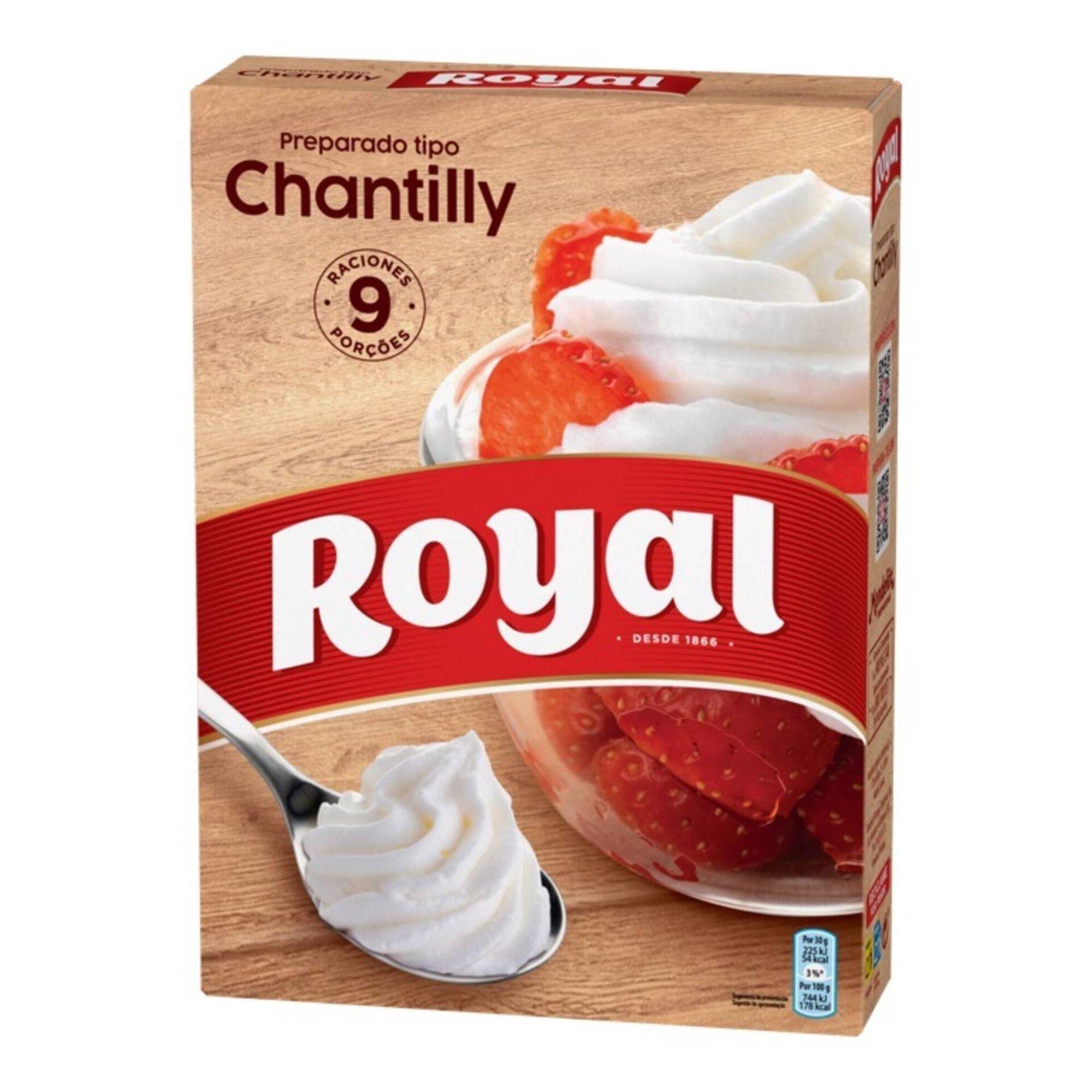 Preparado para Chantilly