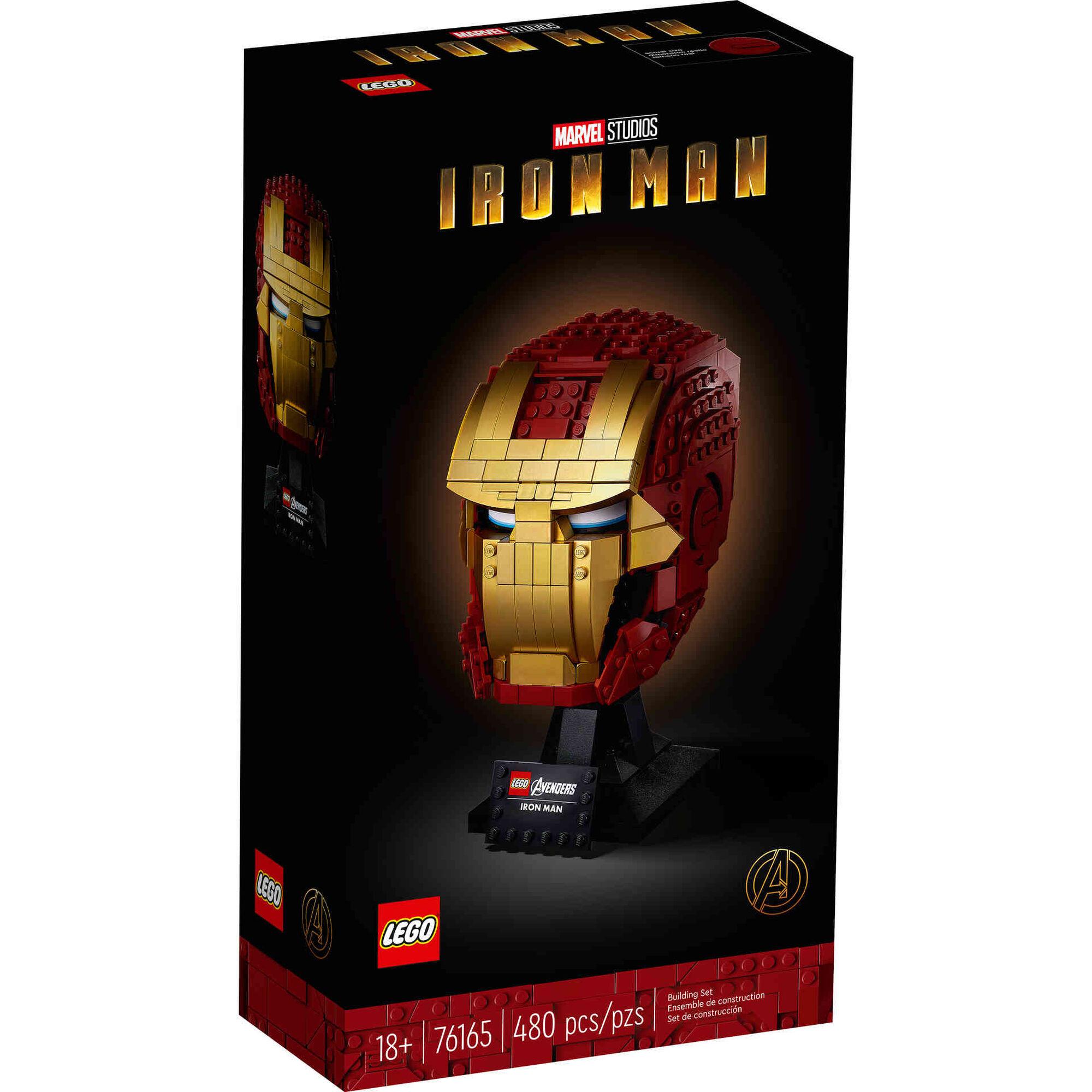 Capacete do Iron Man - 76165, , hi-res