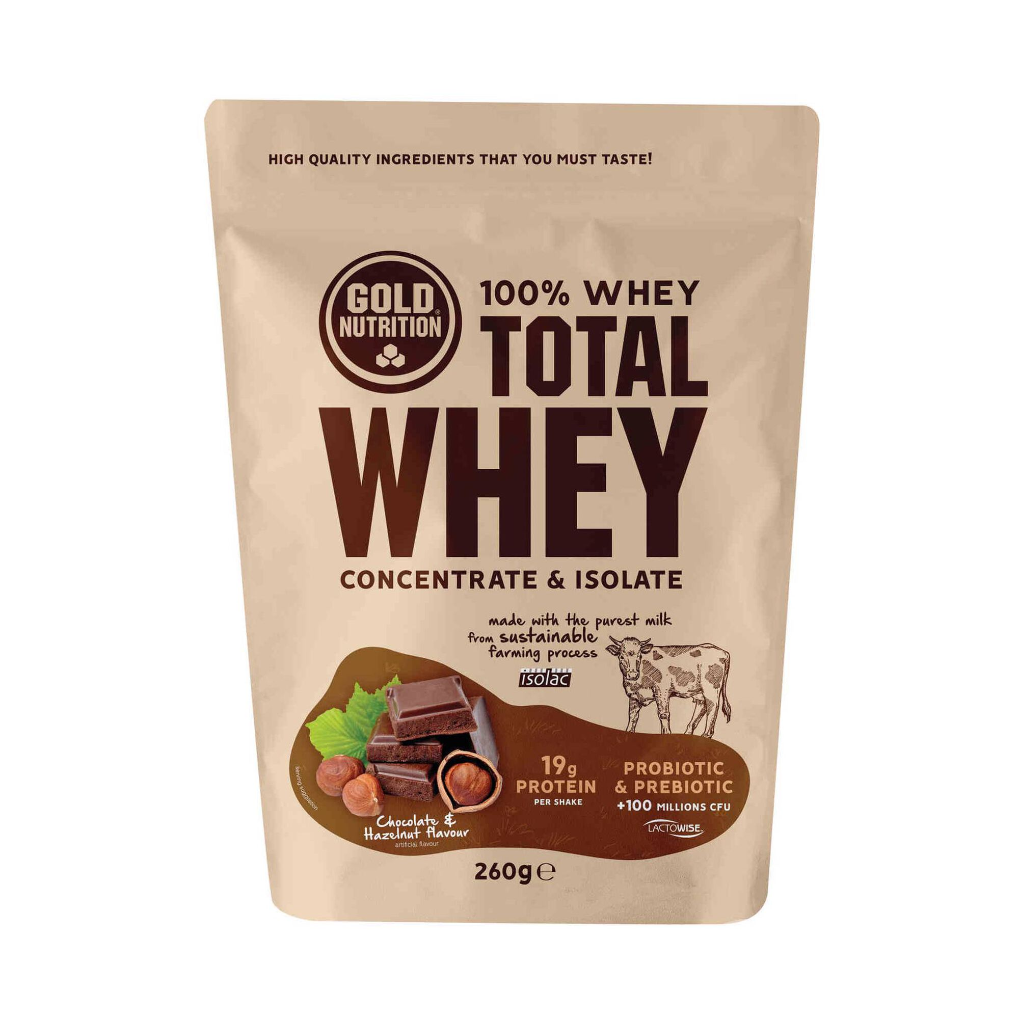 Total Whey Chocolate e Avelã