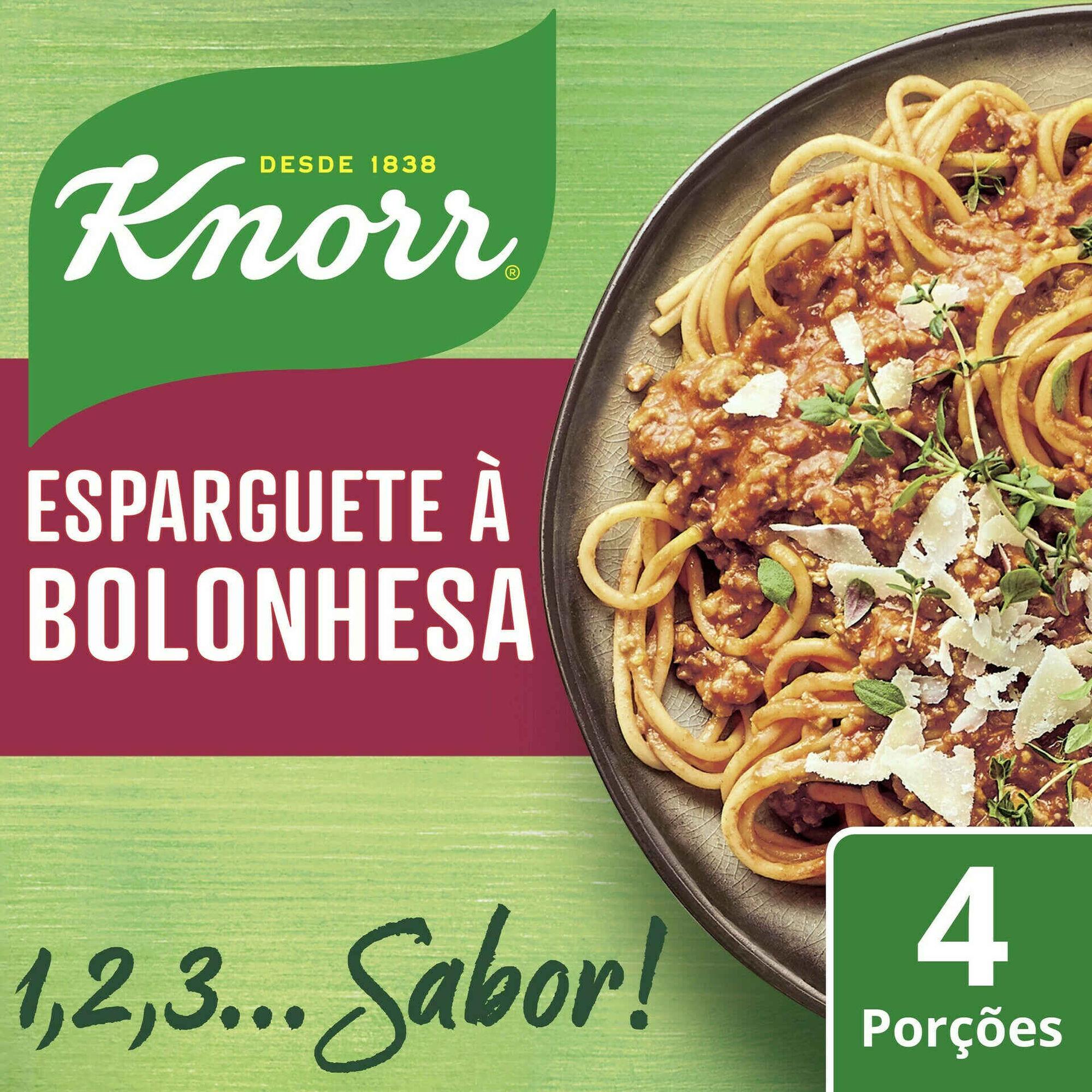 Tempero Esparguete à Bolonhesa em Saqueta