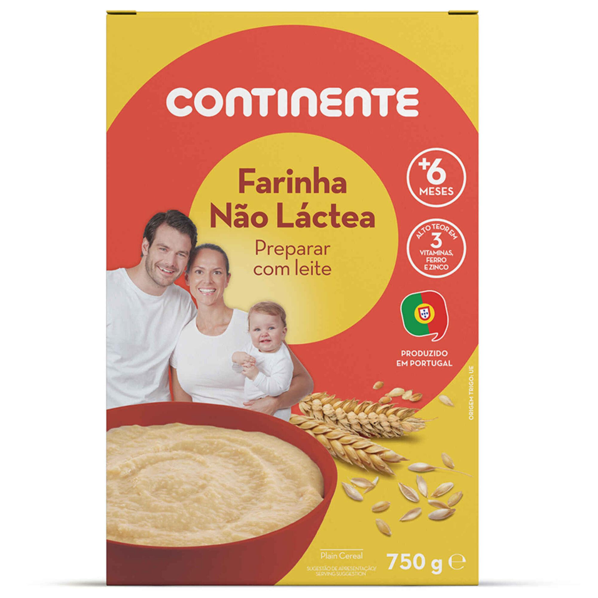 Papa Infantil Farinha Não Láctea de Cereais +6 Meses